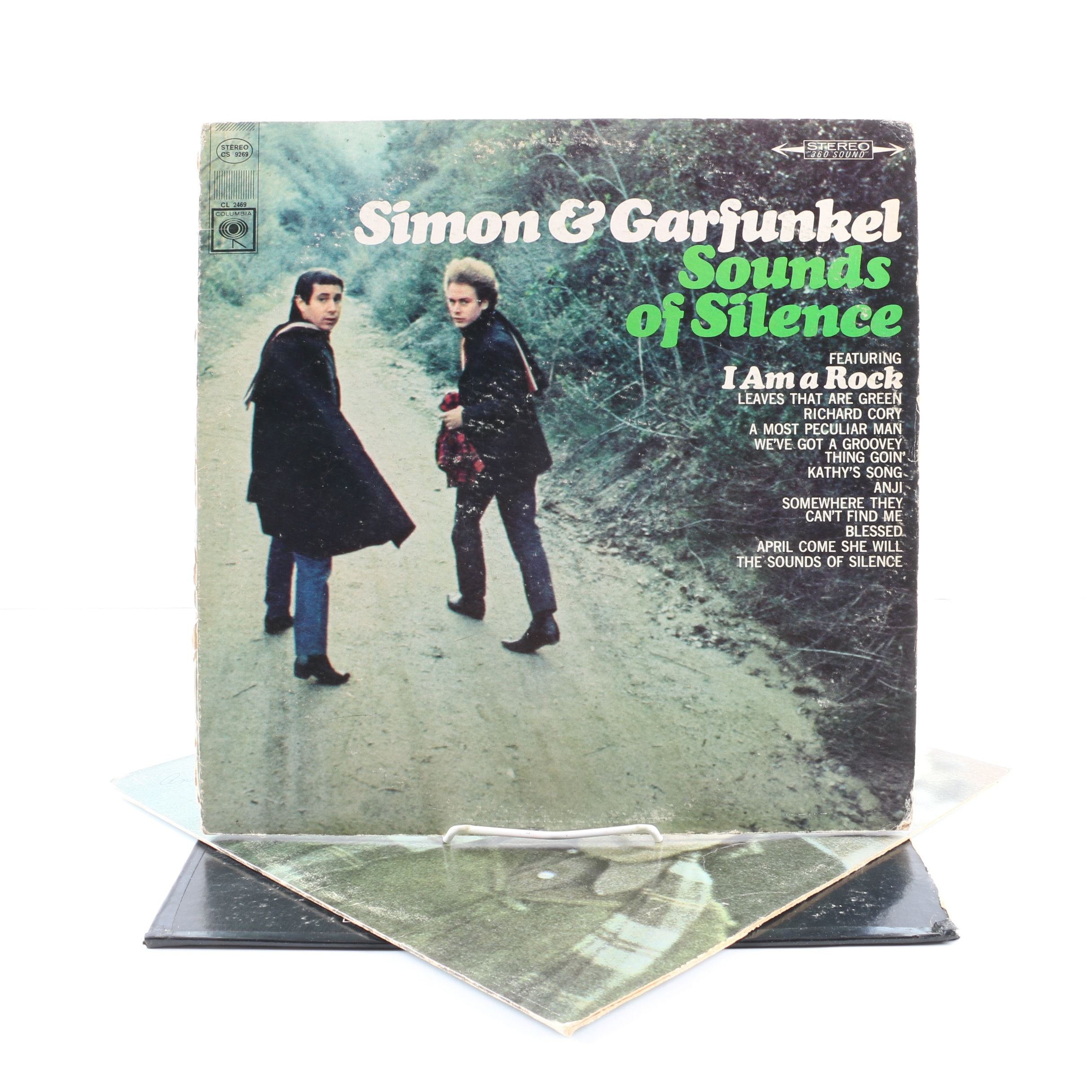 """Simon & Garfunkel LPs Including """"Bookends"""" and """"Sounds Of Silence"""""""