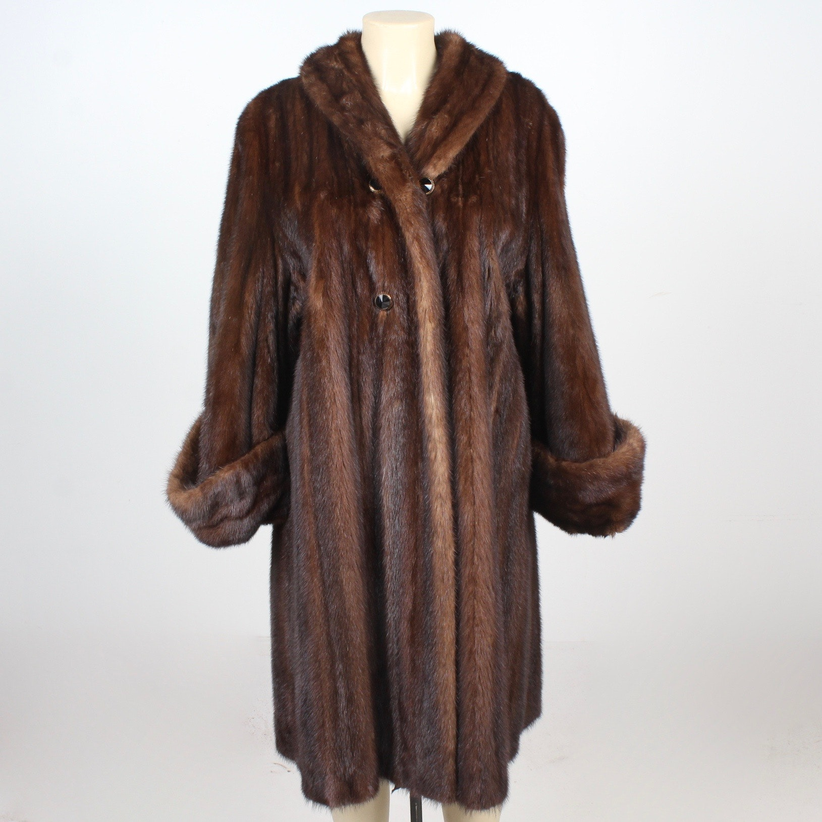 Vintage Wild Mink Fur Stroller