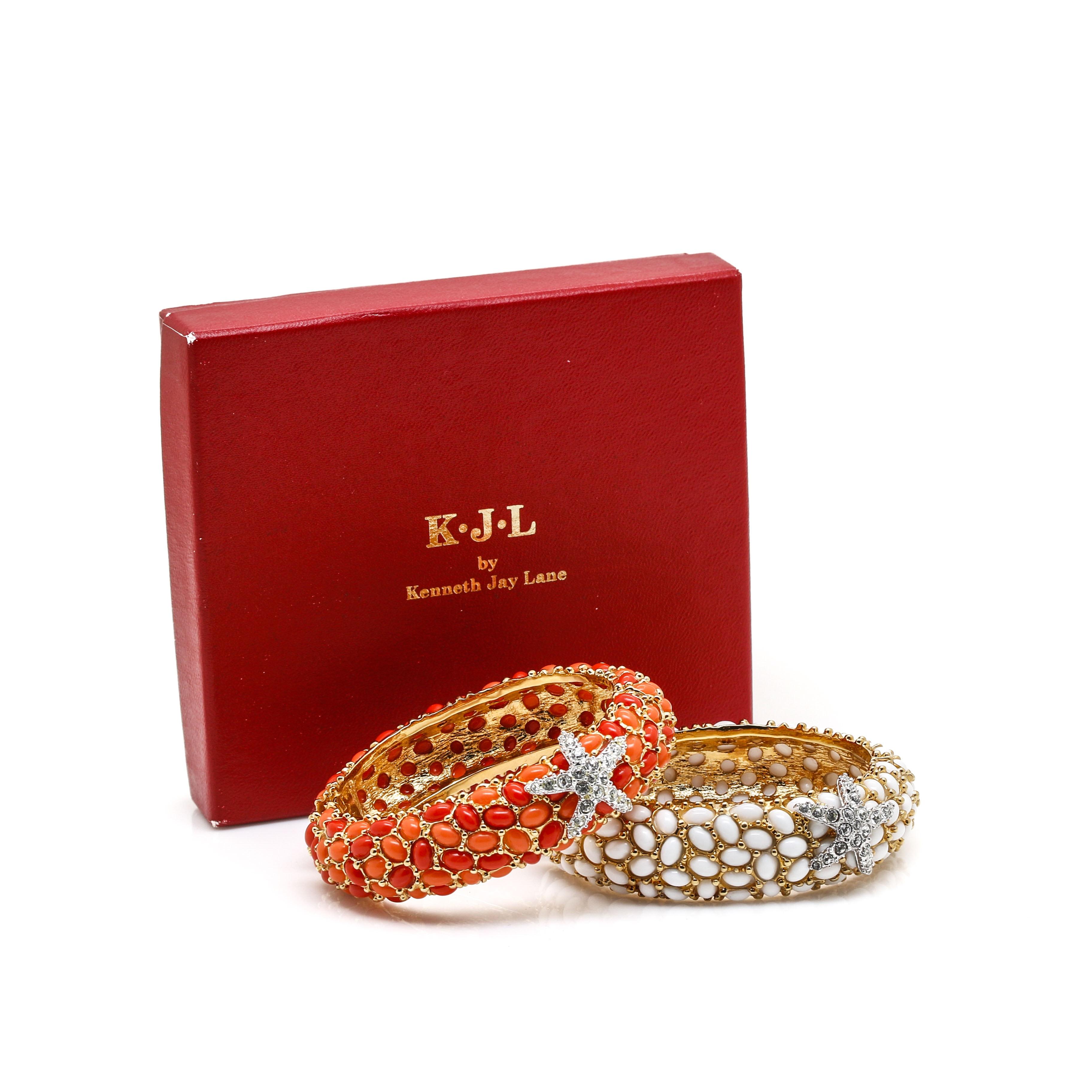 Kenneth Jay Lane Bangle Bracelets