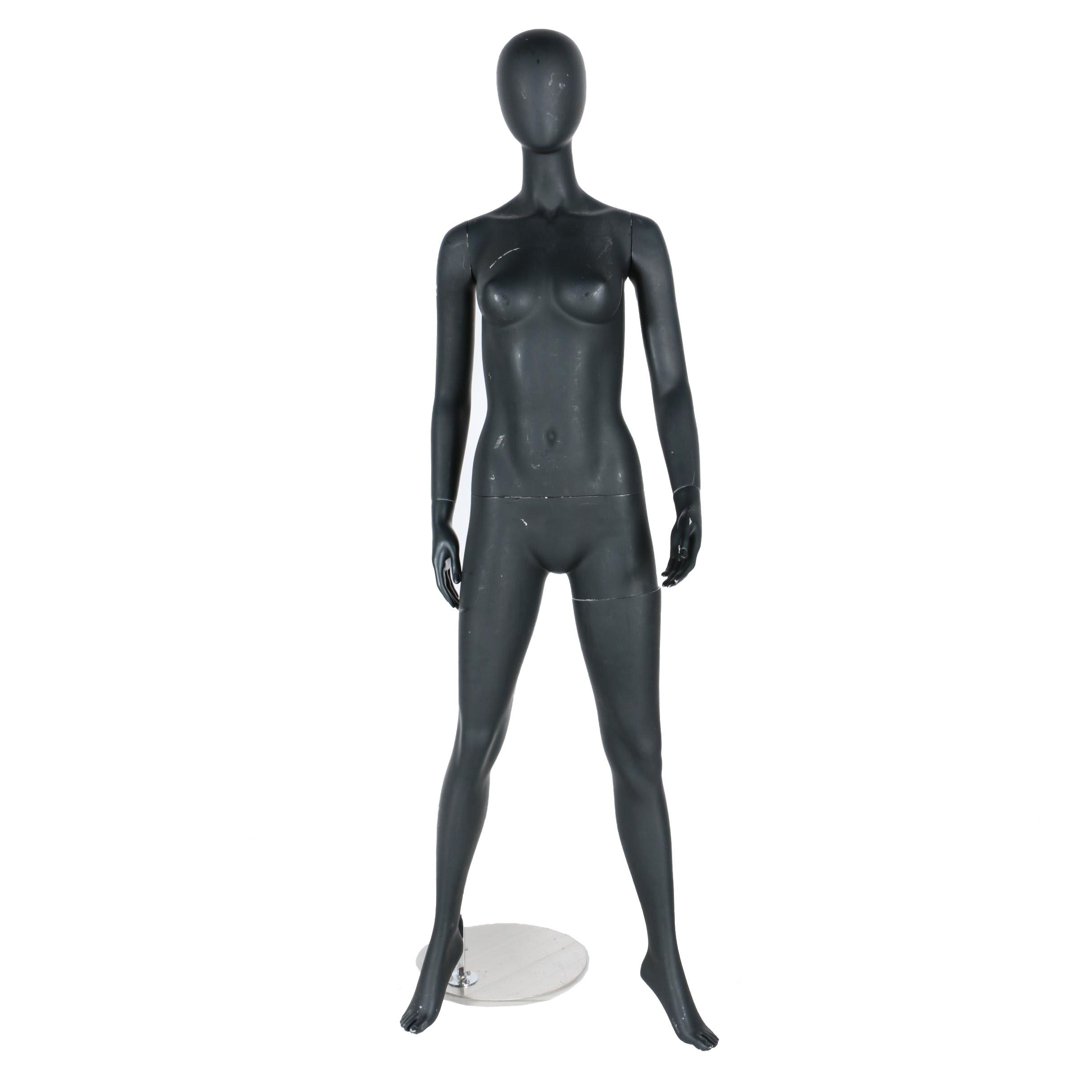 Full Body Female Mannequin With Base