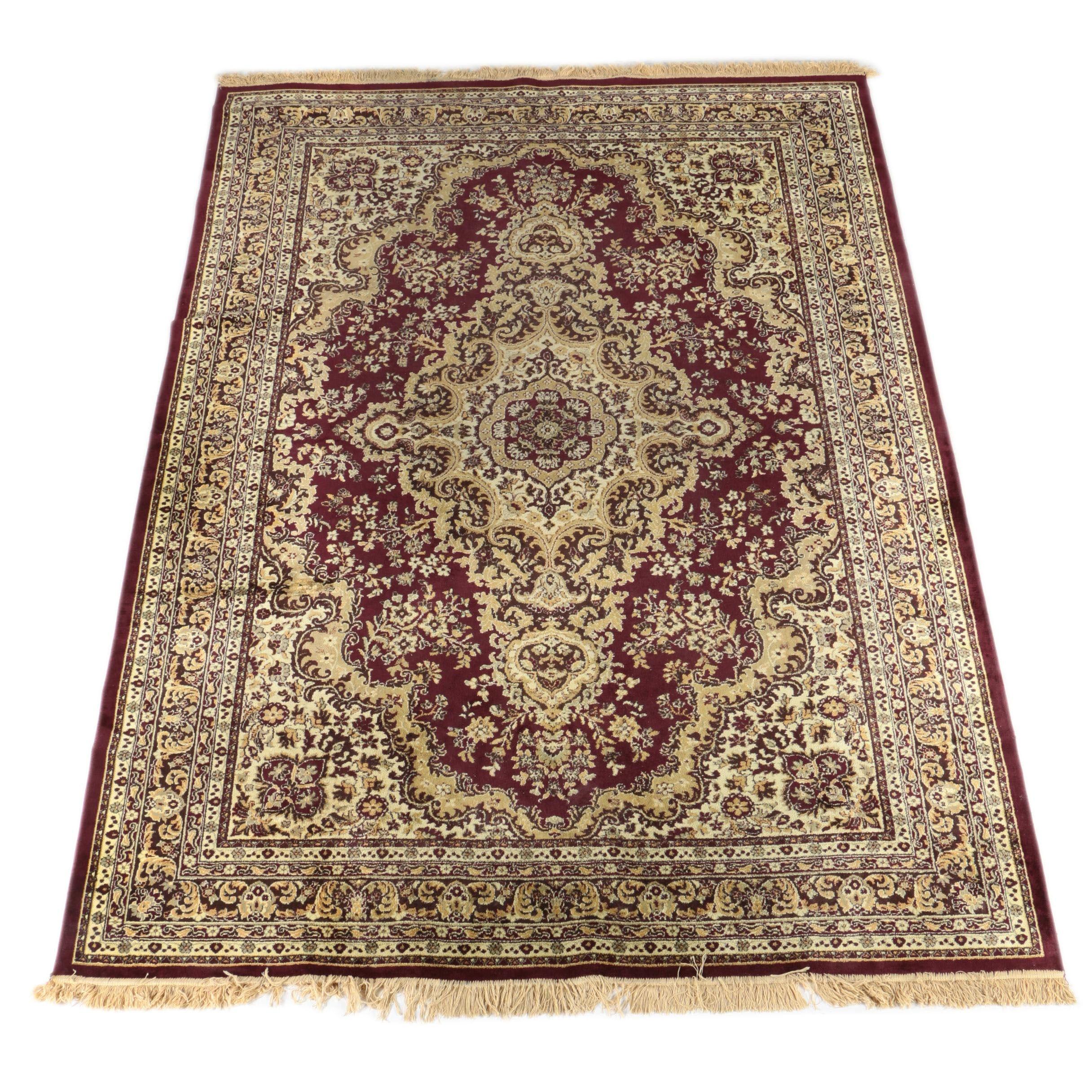 Machine Made Persian Style Area Rug