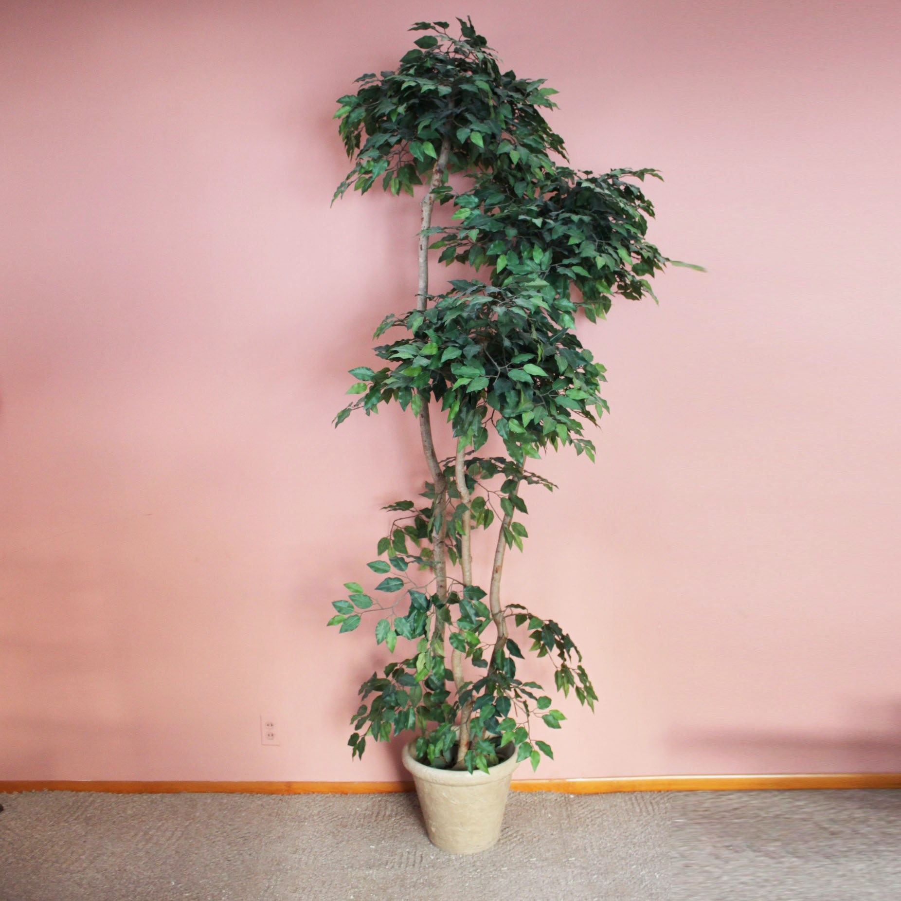 Tall Freestanding Faux Plant