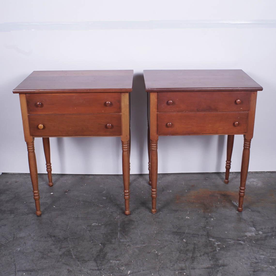 Pair of Vintage End Tables
