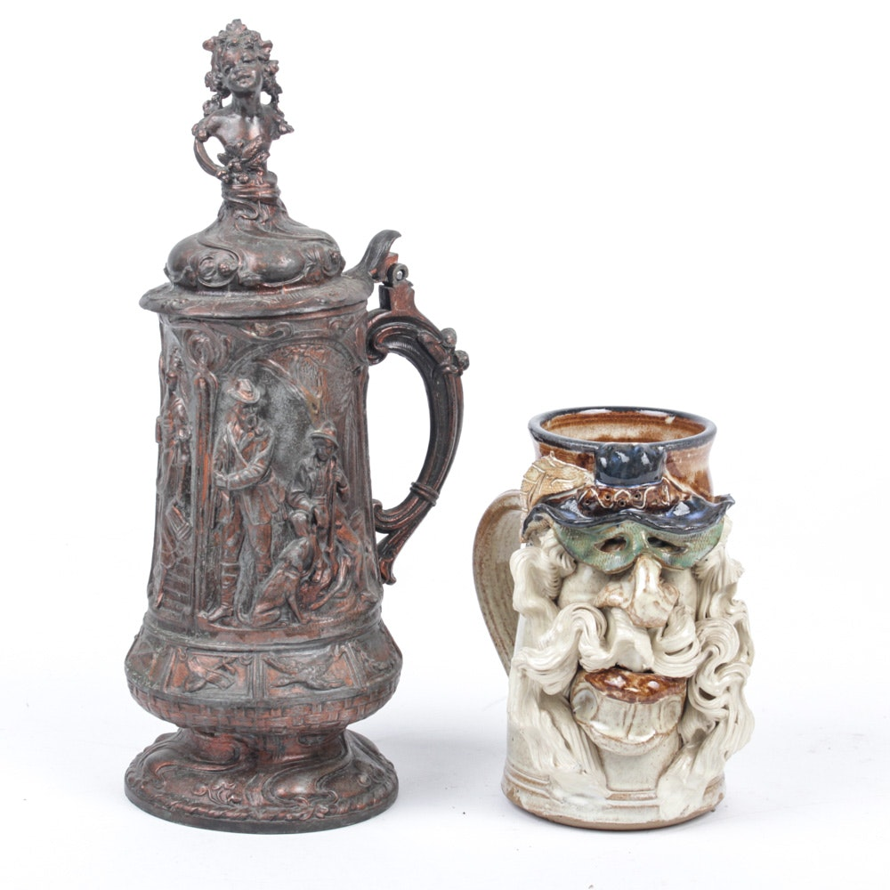 Pair of Beer Steins