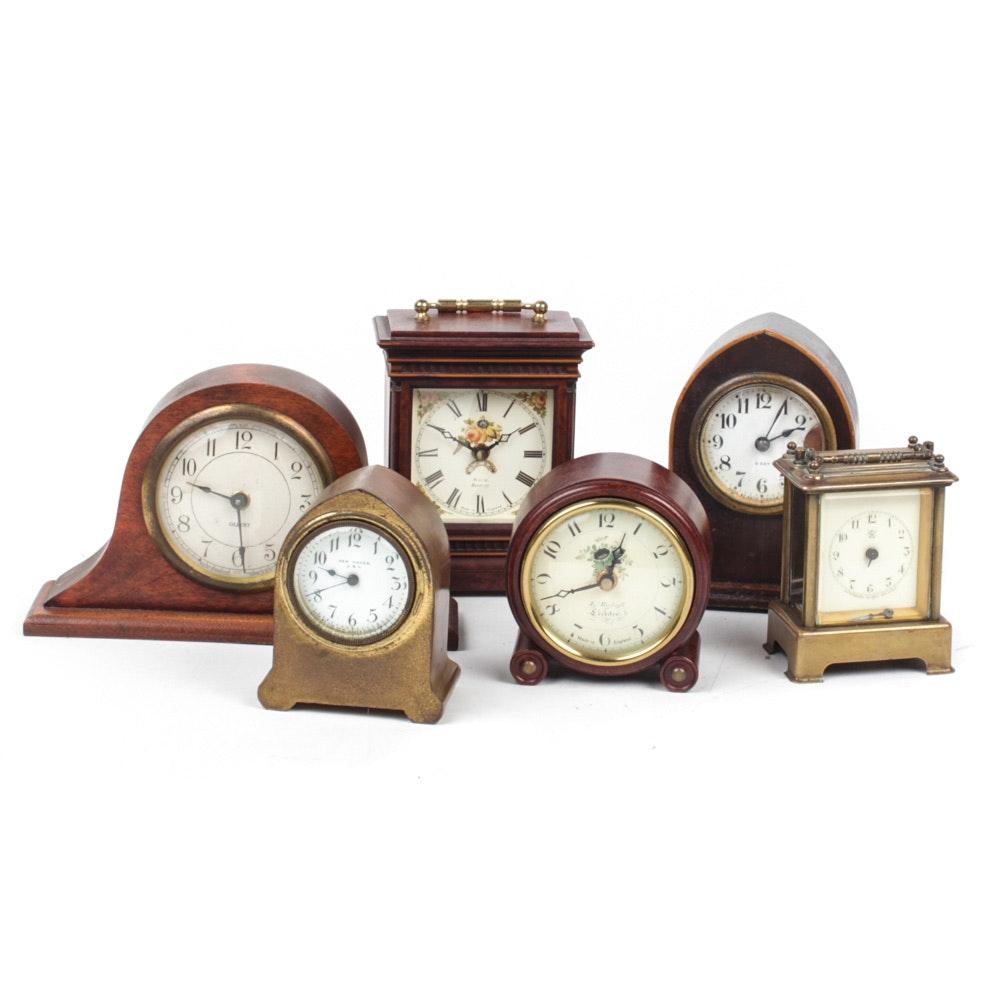 Mini Mantel Clock Collection
