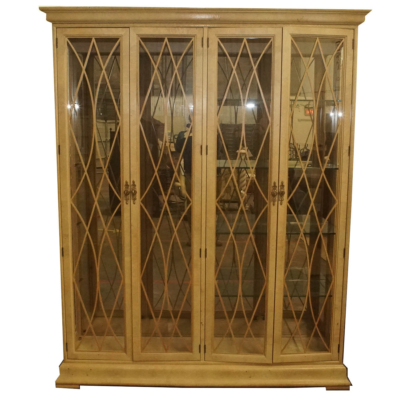 Hepplewhite Style China Cabinet