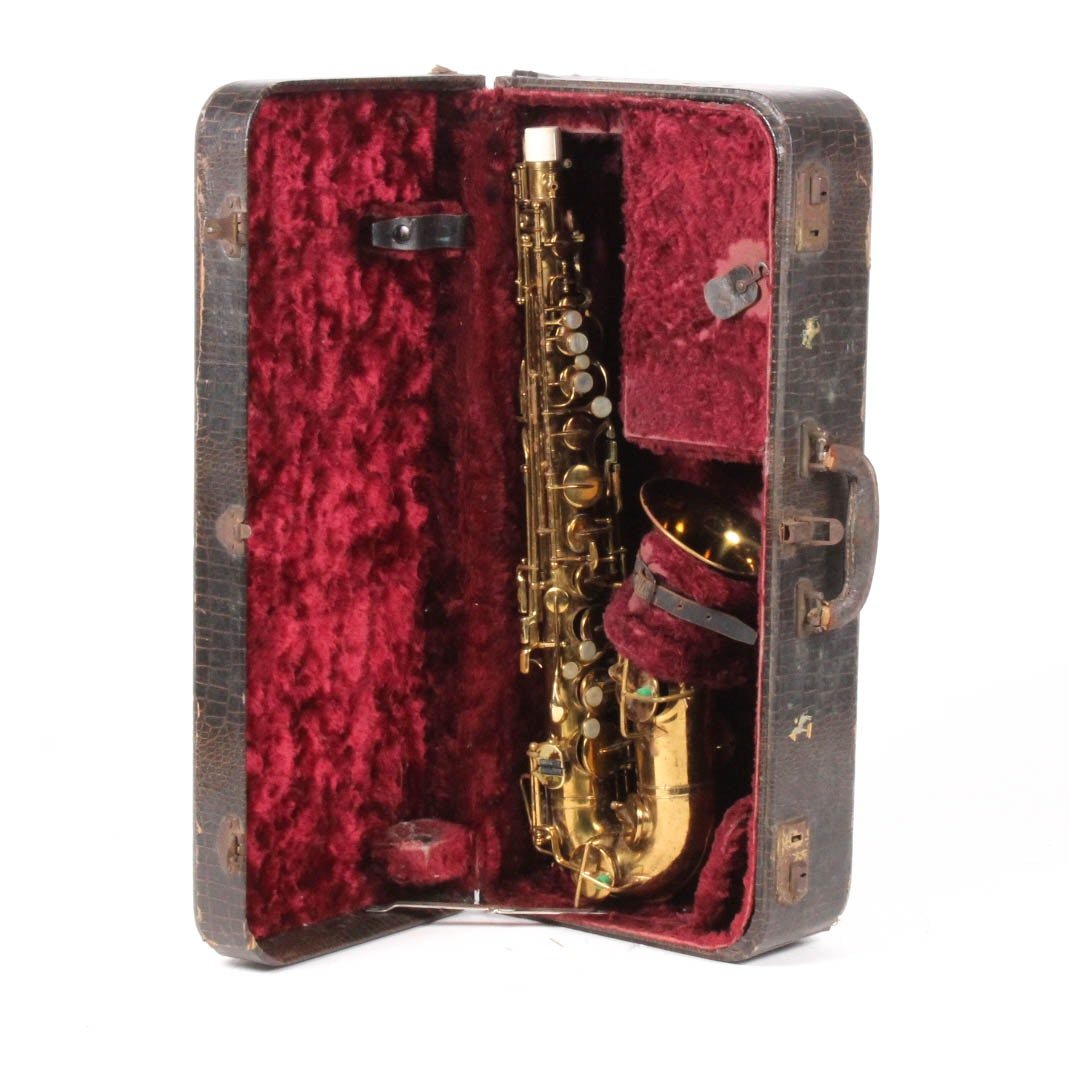 "1929 Buescher ""True Tone"" C Melody Saxophone"