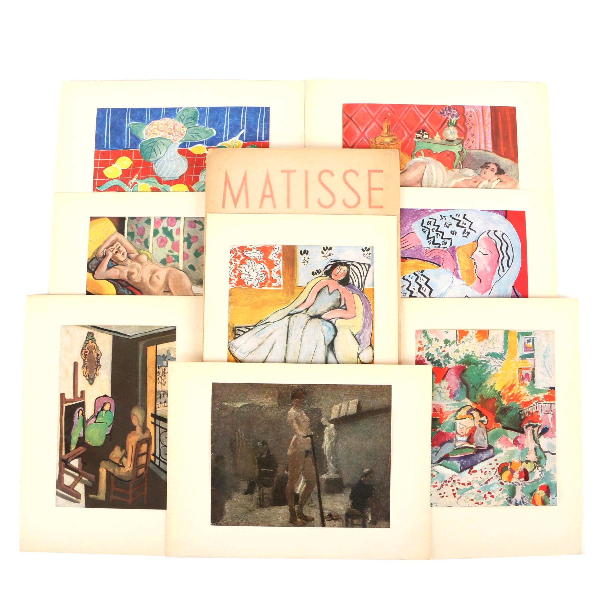 Offset Lithographs After Henri Matisse