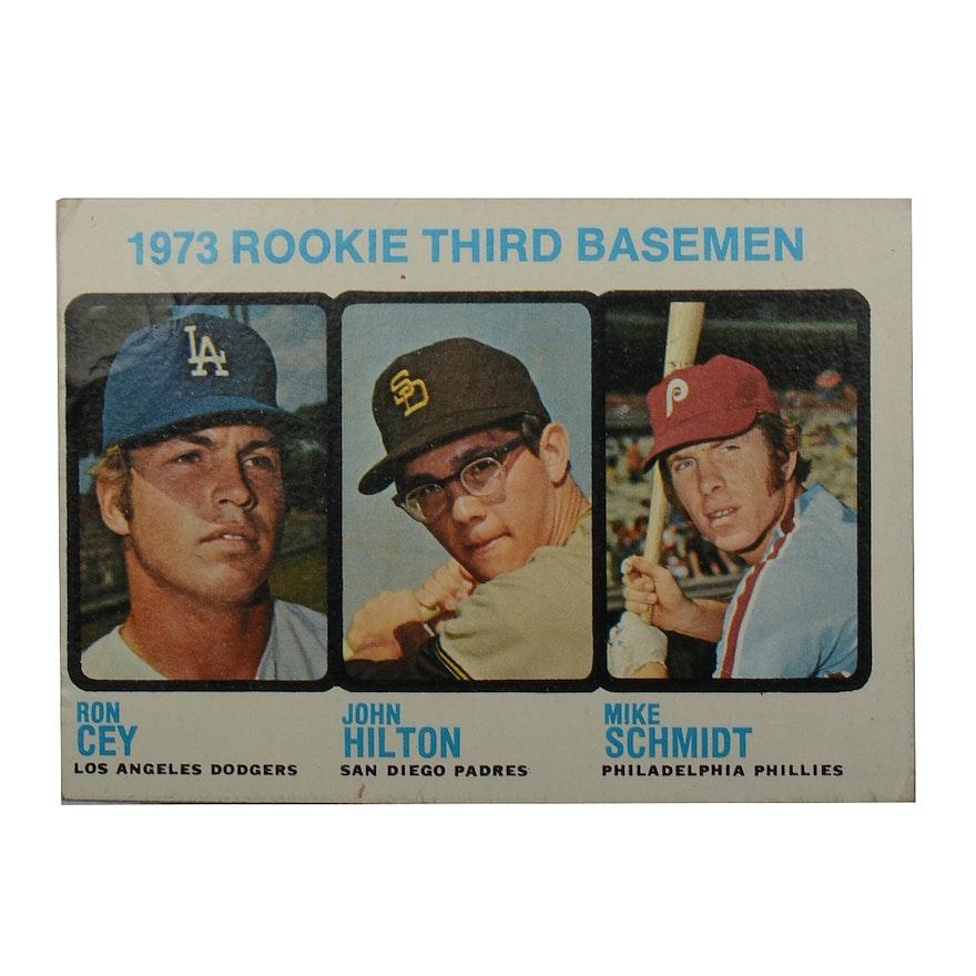 1973 Mike Schmidt Rookie Topps Baseball Card