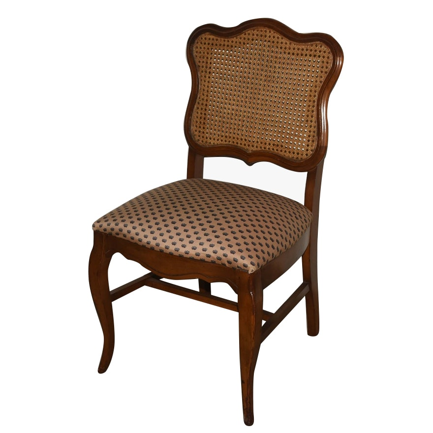 Cane Backed Side Chair