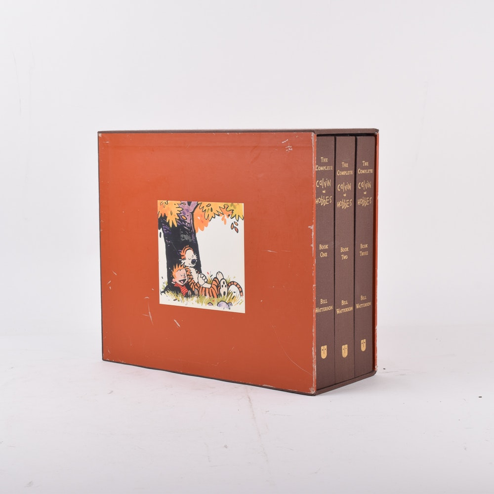 "2005 ""The Complete Calvin and Hobbes"" by Bill Watterson Box Set"
