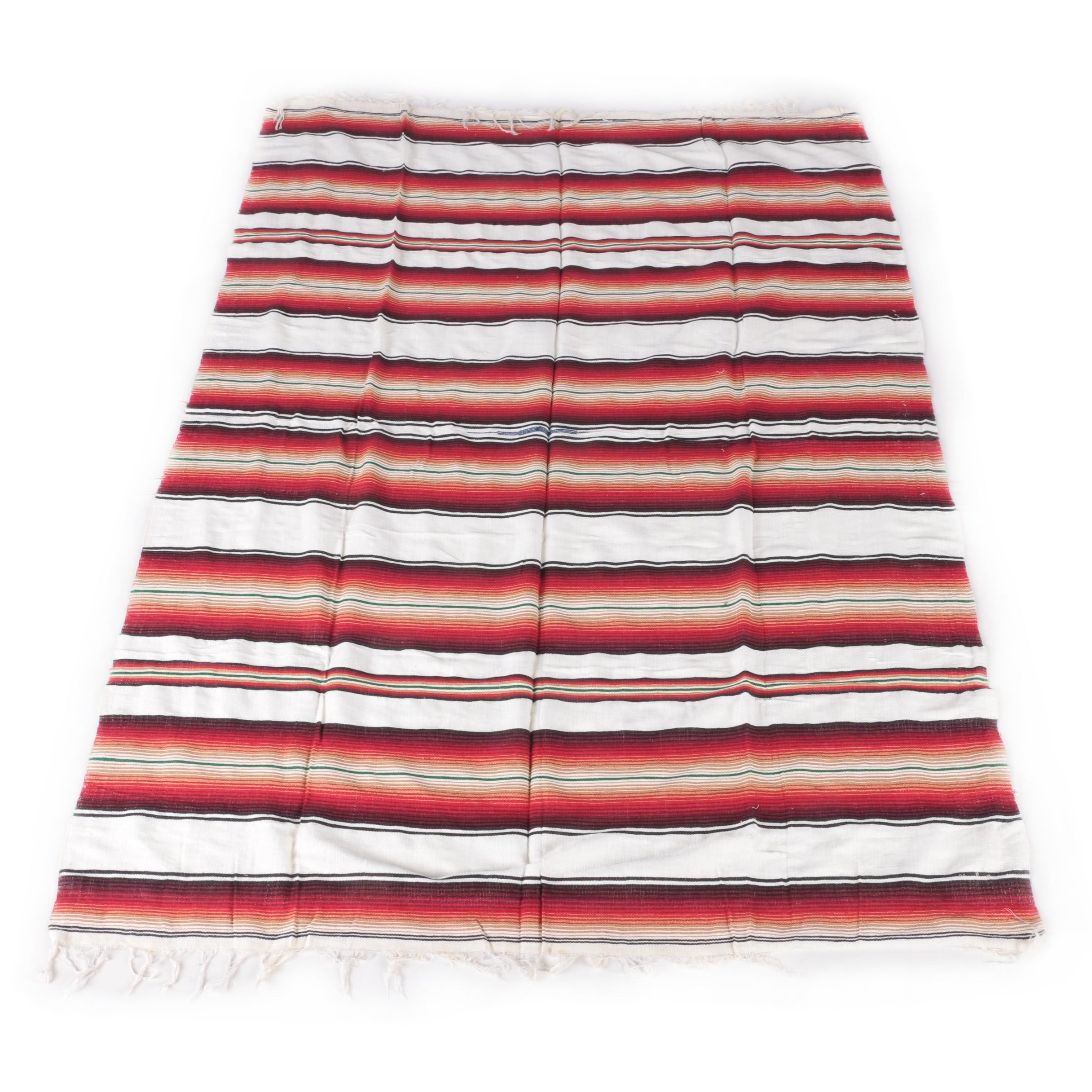 """Mexican """"San Diego"""" Woven Blanket"""