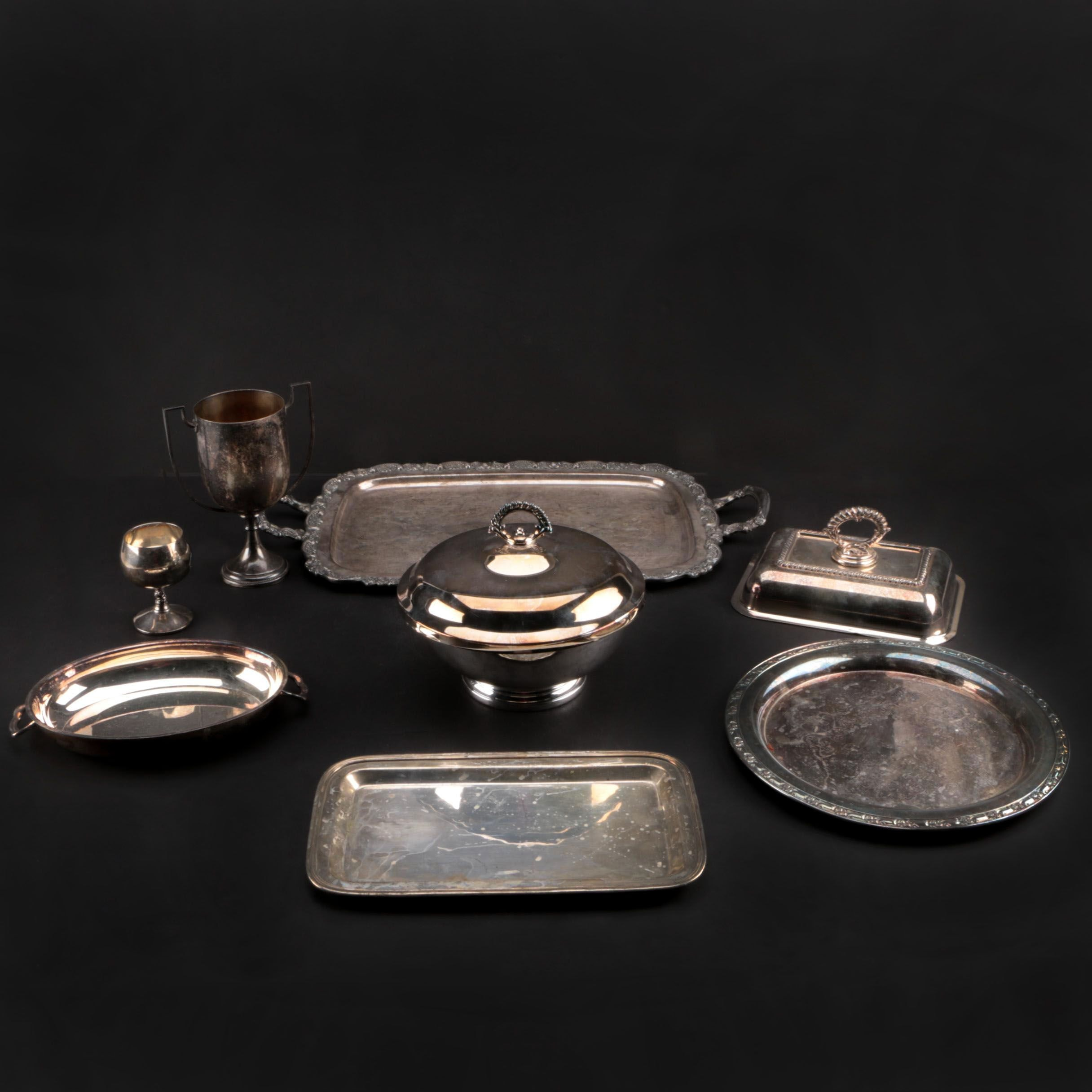 Gorham, Oneida and Other Silver Plate Serveware