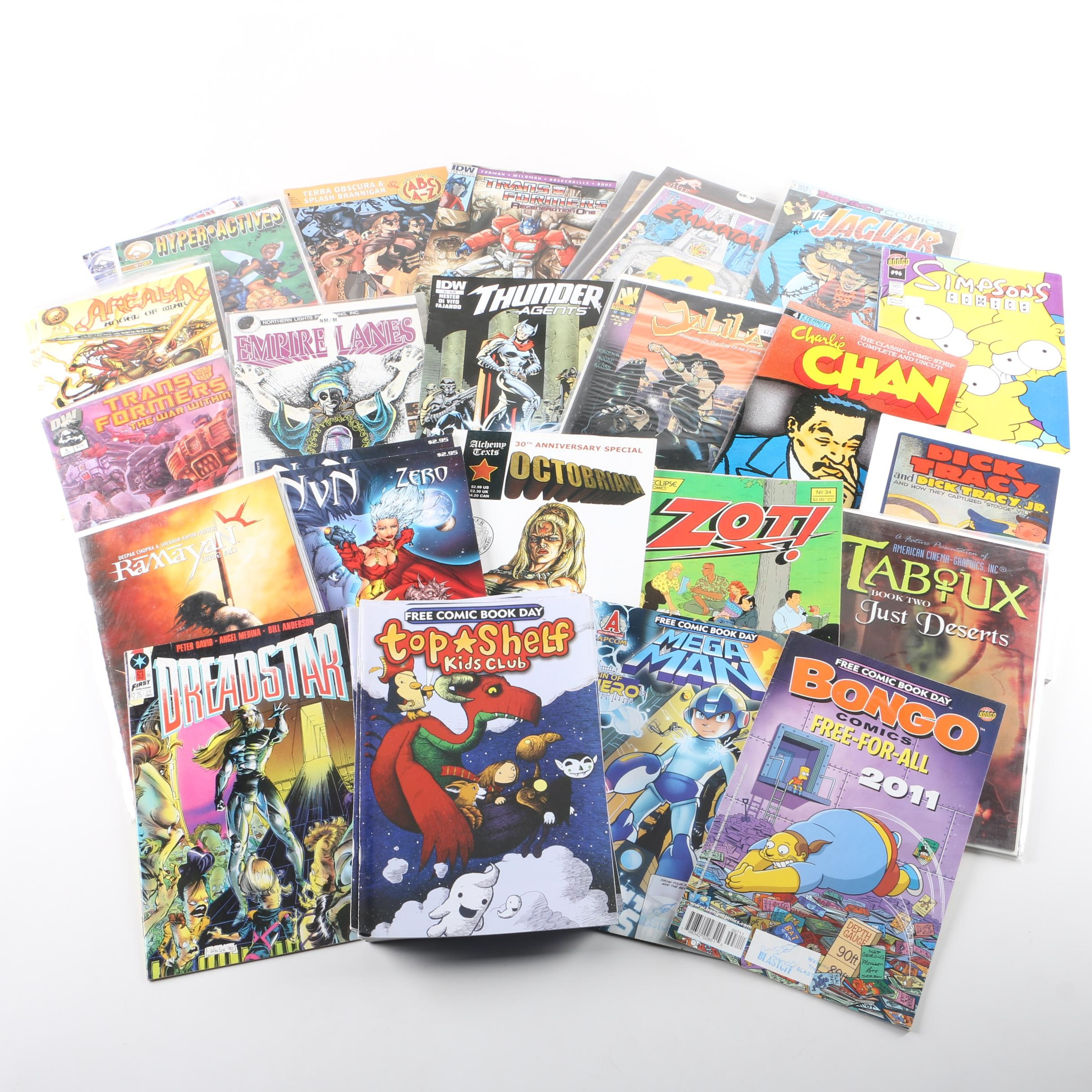 """Assorted Modern Age Comic Books Including """"Transformers: Regeneration One"""""""