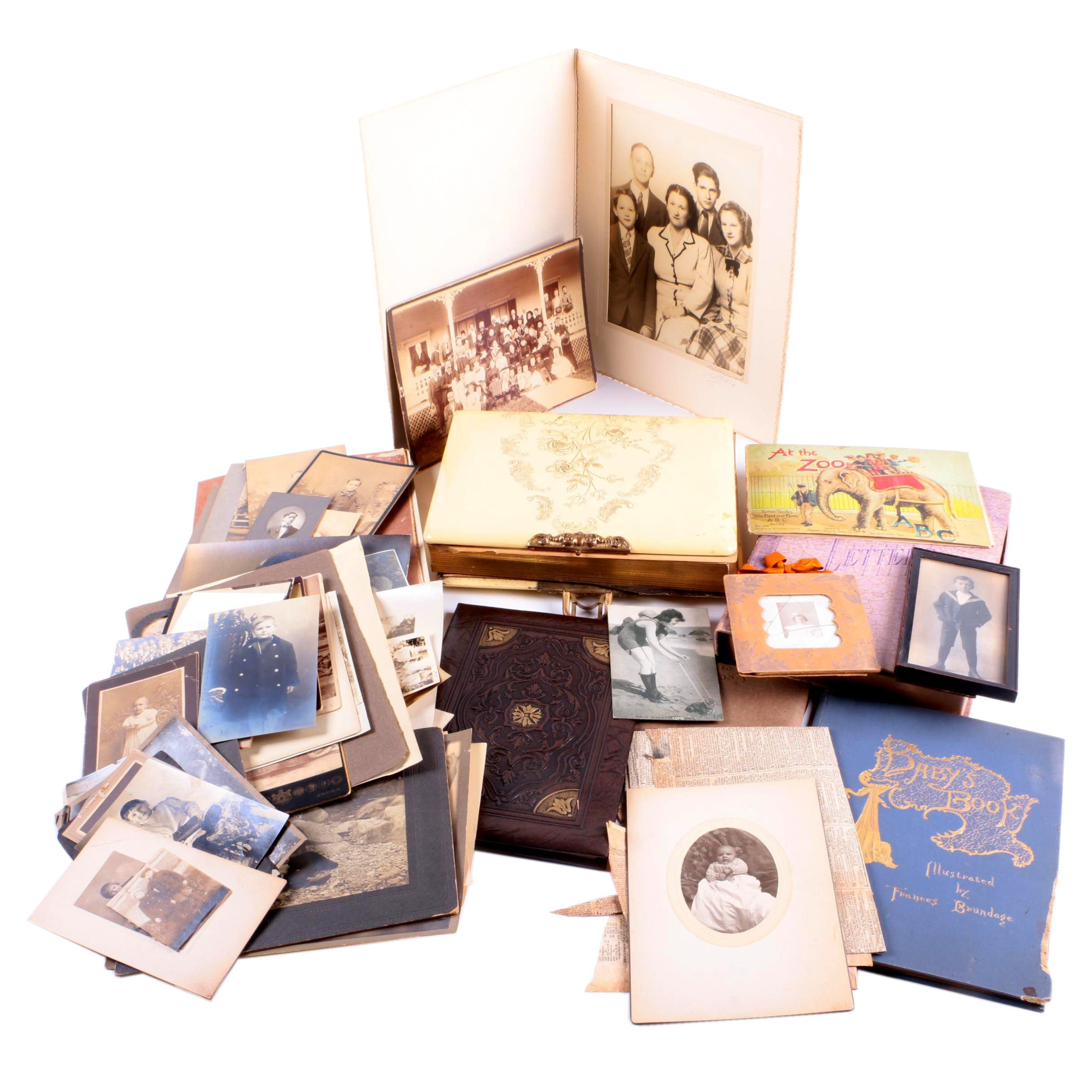 Family Photographs, Postcards, and Baby Books