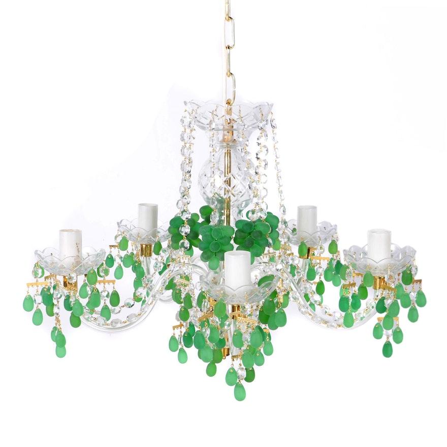 Czech sklarny bydzov crystal chandelier ebth czech sklarny bydzov crystal chandelier aloadofball Images