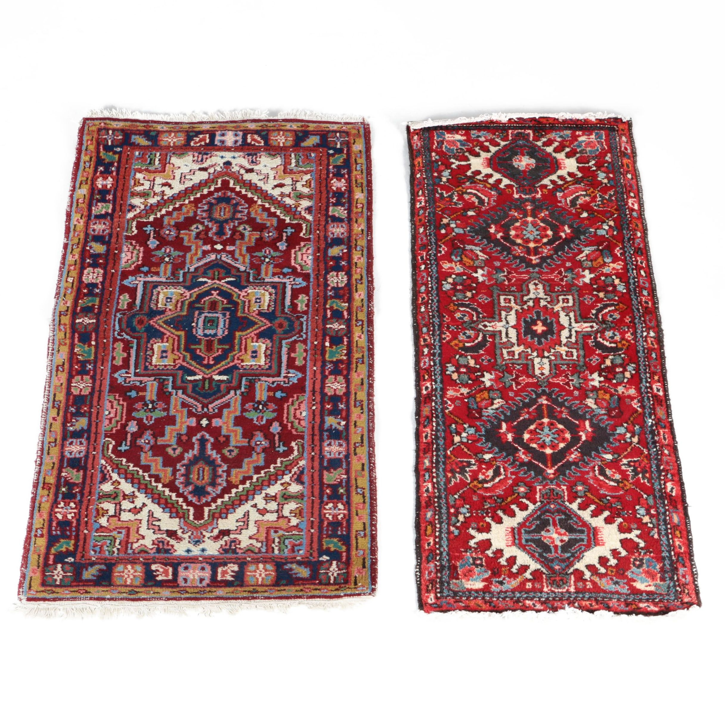 Hand-Knotted Northwest Persian Accent Rugs
