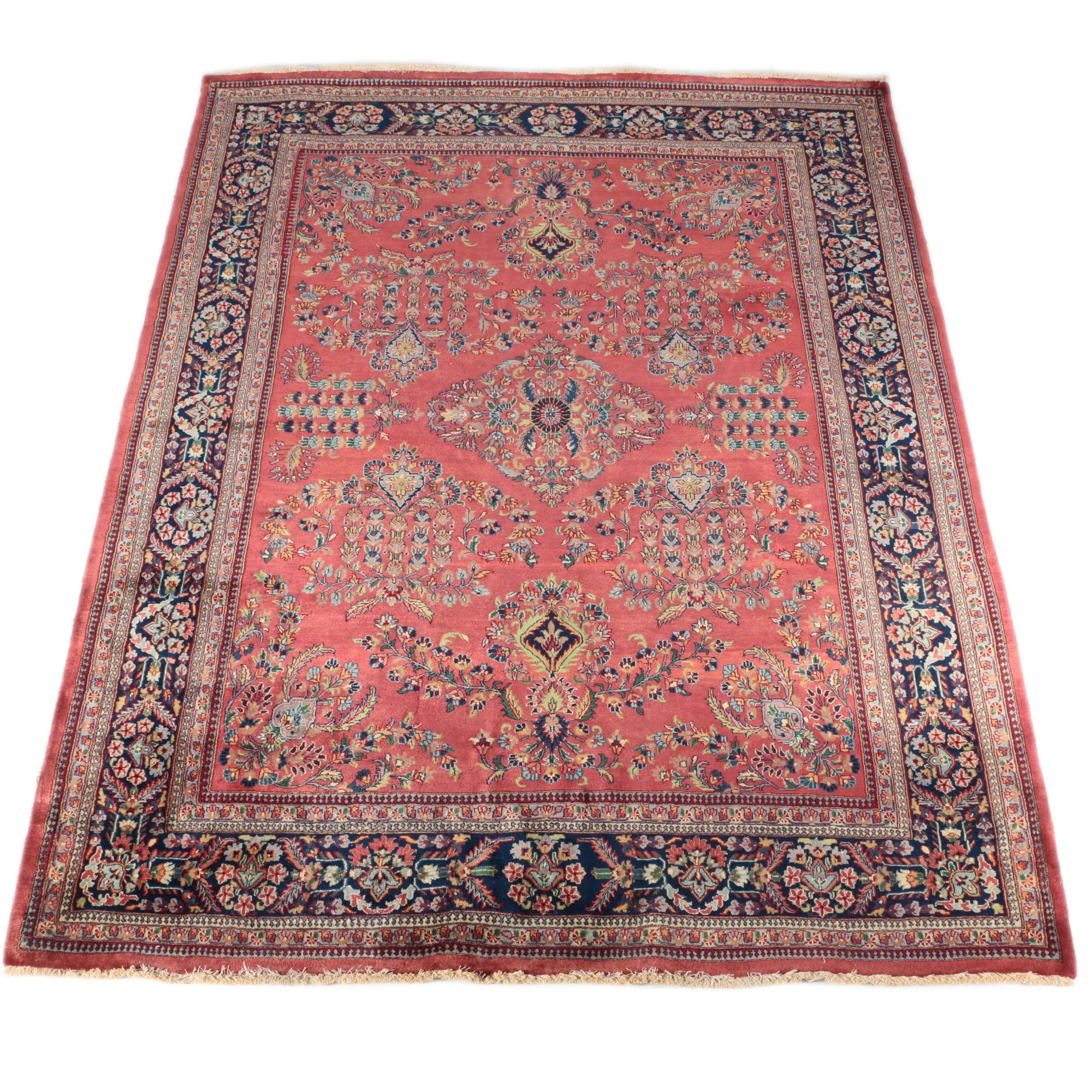 Finely Hand-Knotted Persian Mehriban Wool Area Rug