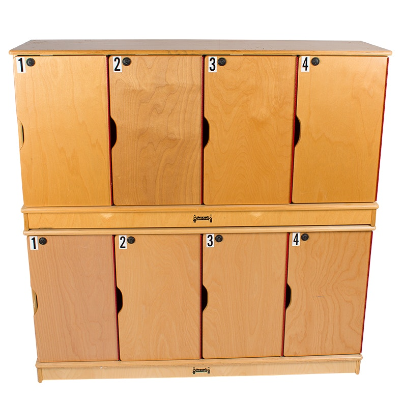 Two Commercial Storage Lockers by Jonti-Craft
