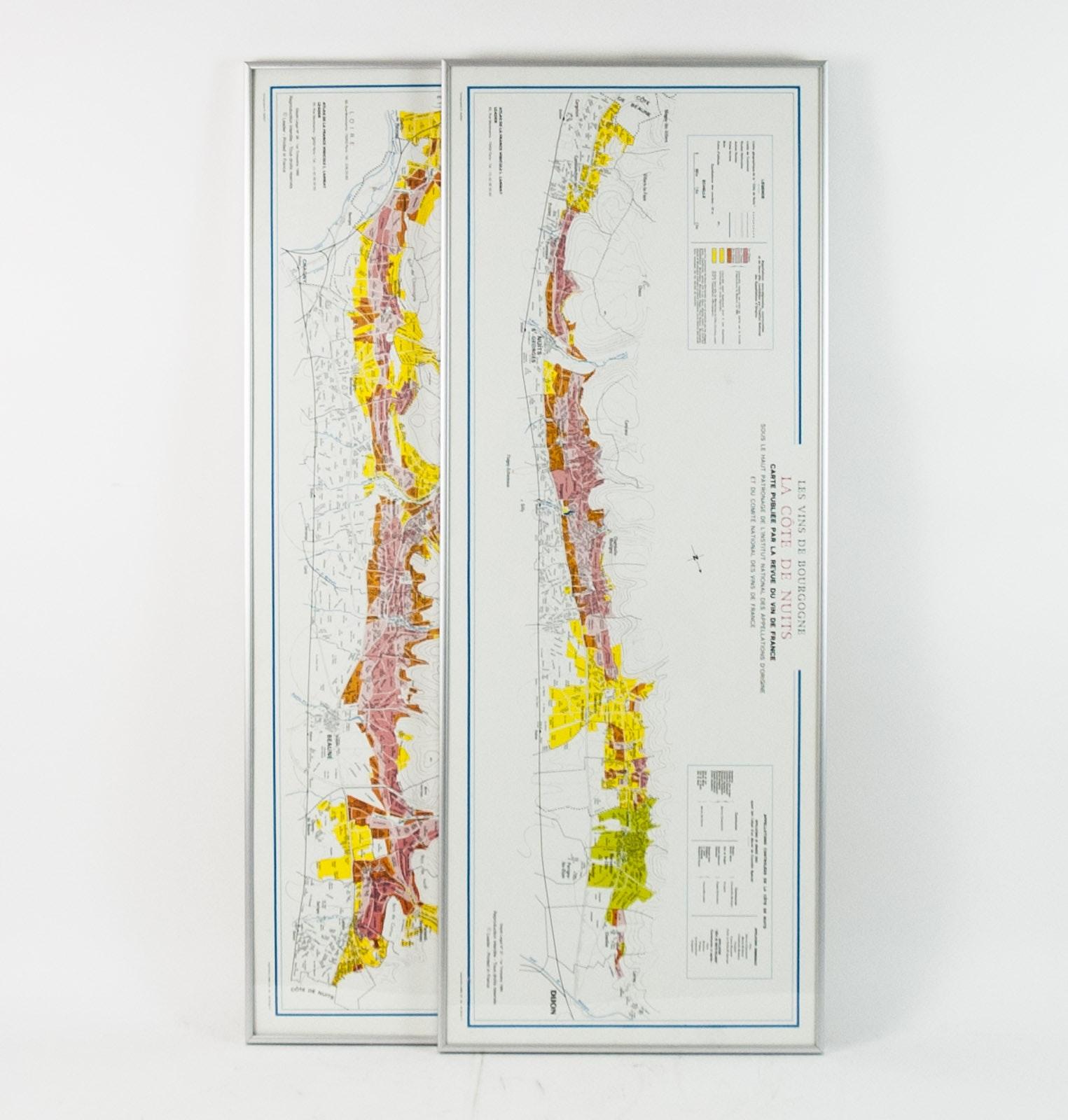 Pair of Framed Maps