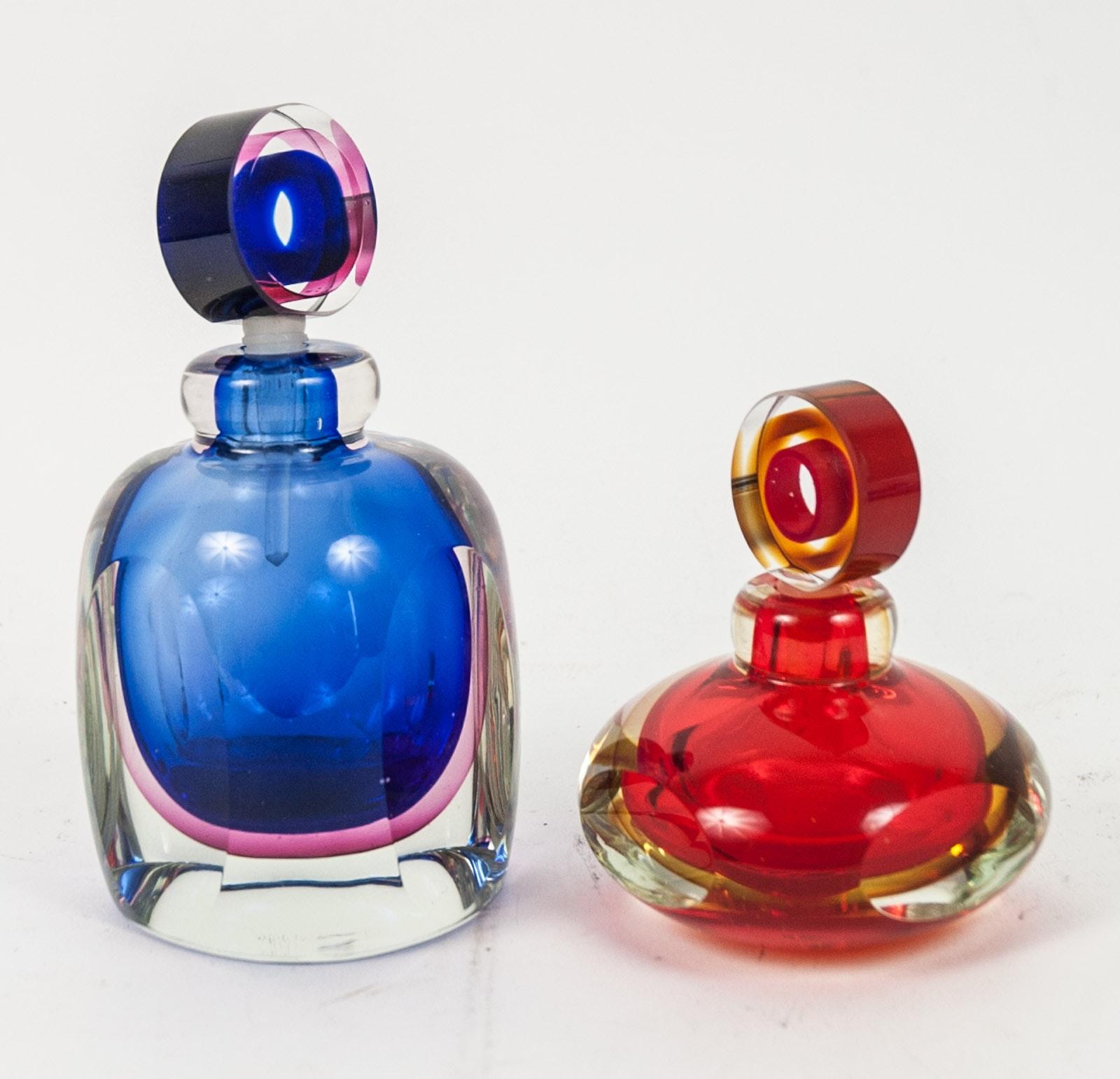 Vintage Glass Perfume Bottles