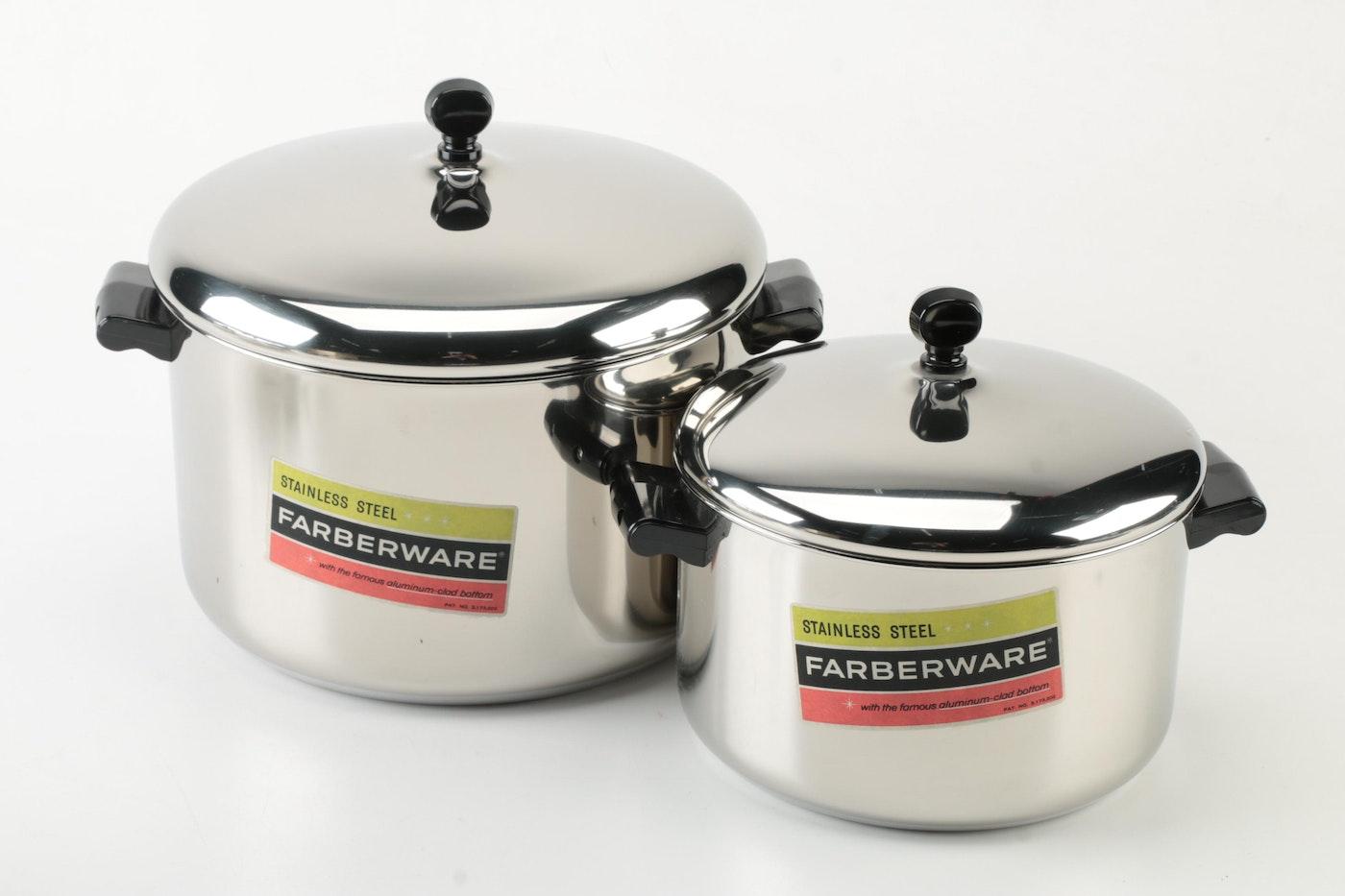 1960 S Aluminum Clad Farberware Cookware Ebth
