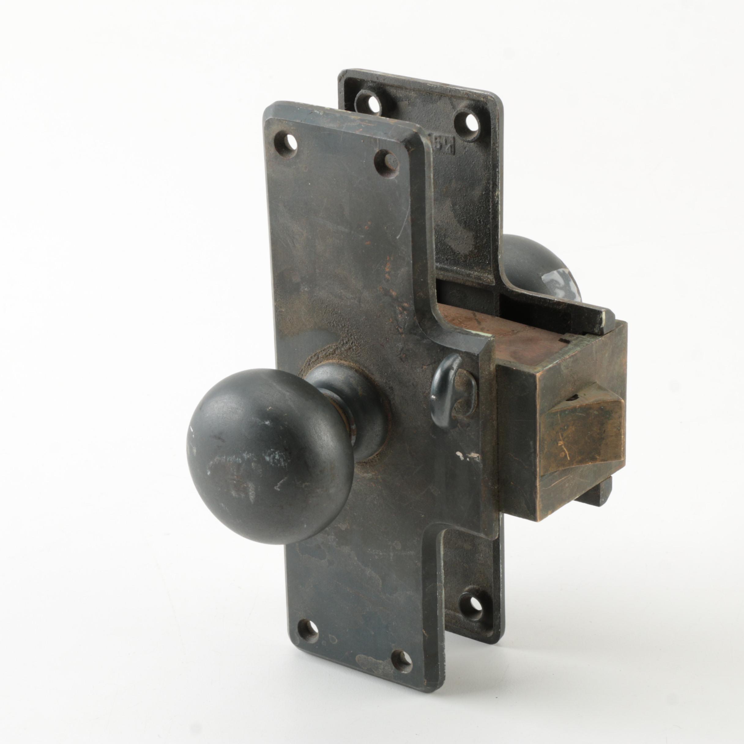 Fully Assembled Metal Door Knob