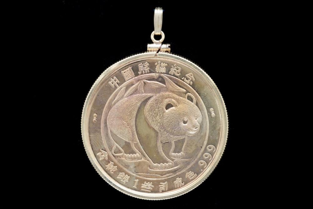 gold plated 1987 999 silver bullion coin