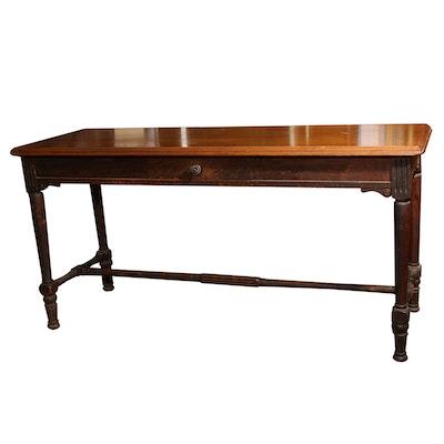 Vintage Sheraton Style Console Table - Vintage Desks, Antique Desks And Used Desks Auction : EBTH
