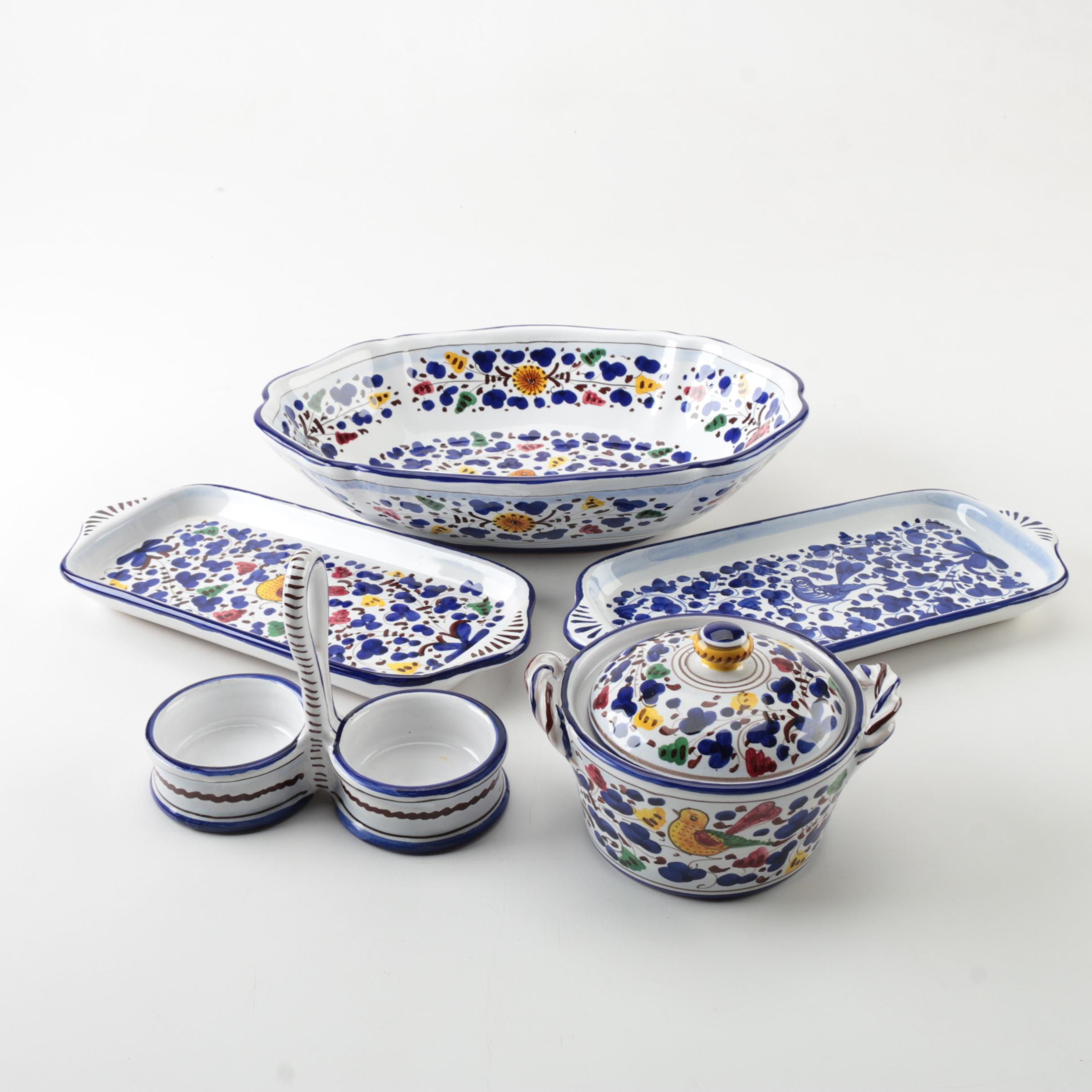 Deruta Italian Tableware; 1x1 ...  sc 1 st  EBTH.com & Deruta Italian Tableware : EBTH