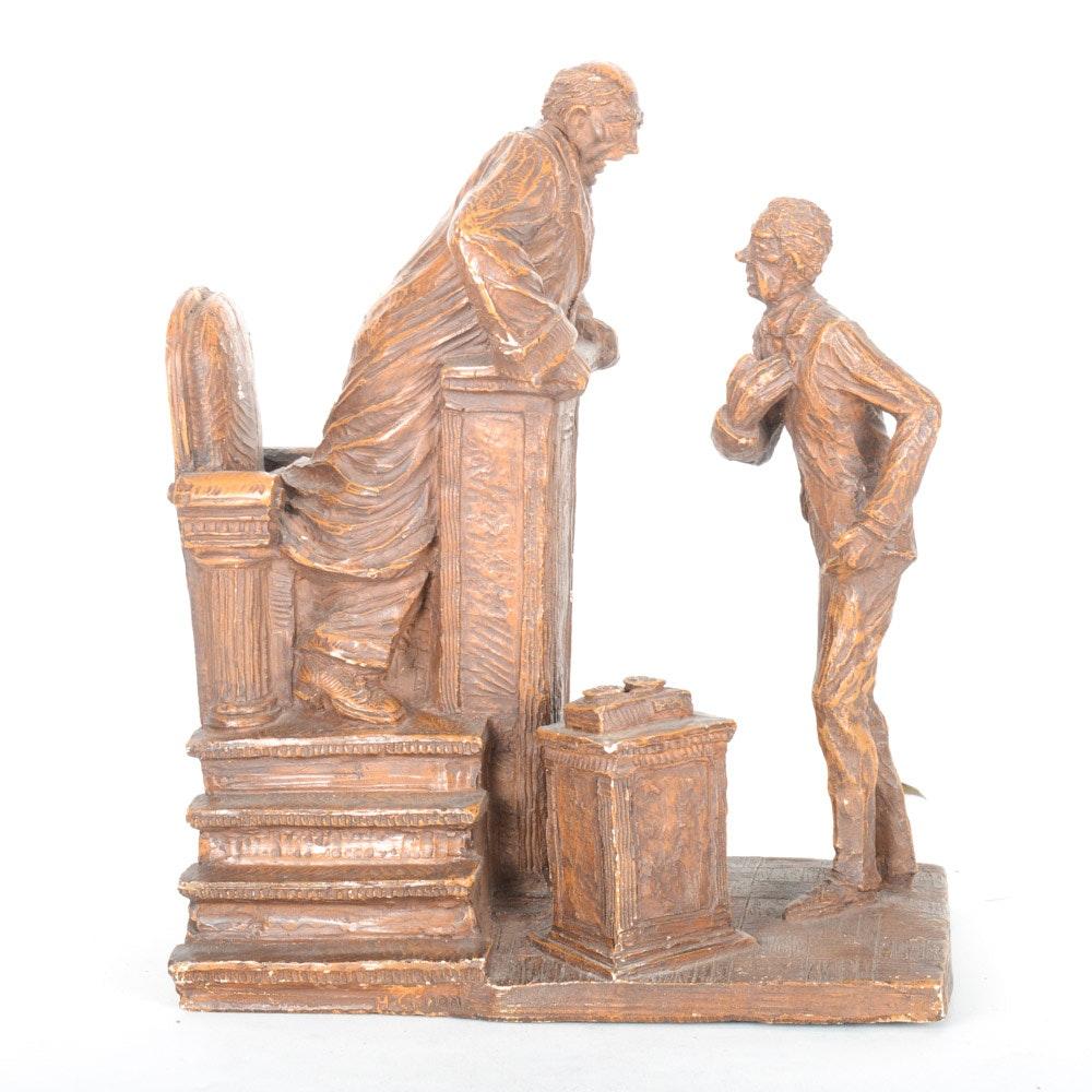 Austin Productions Bonded Marble Sculpture
