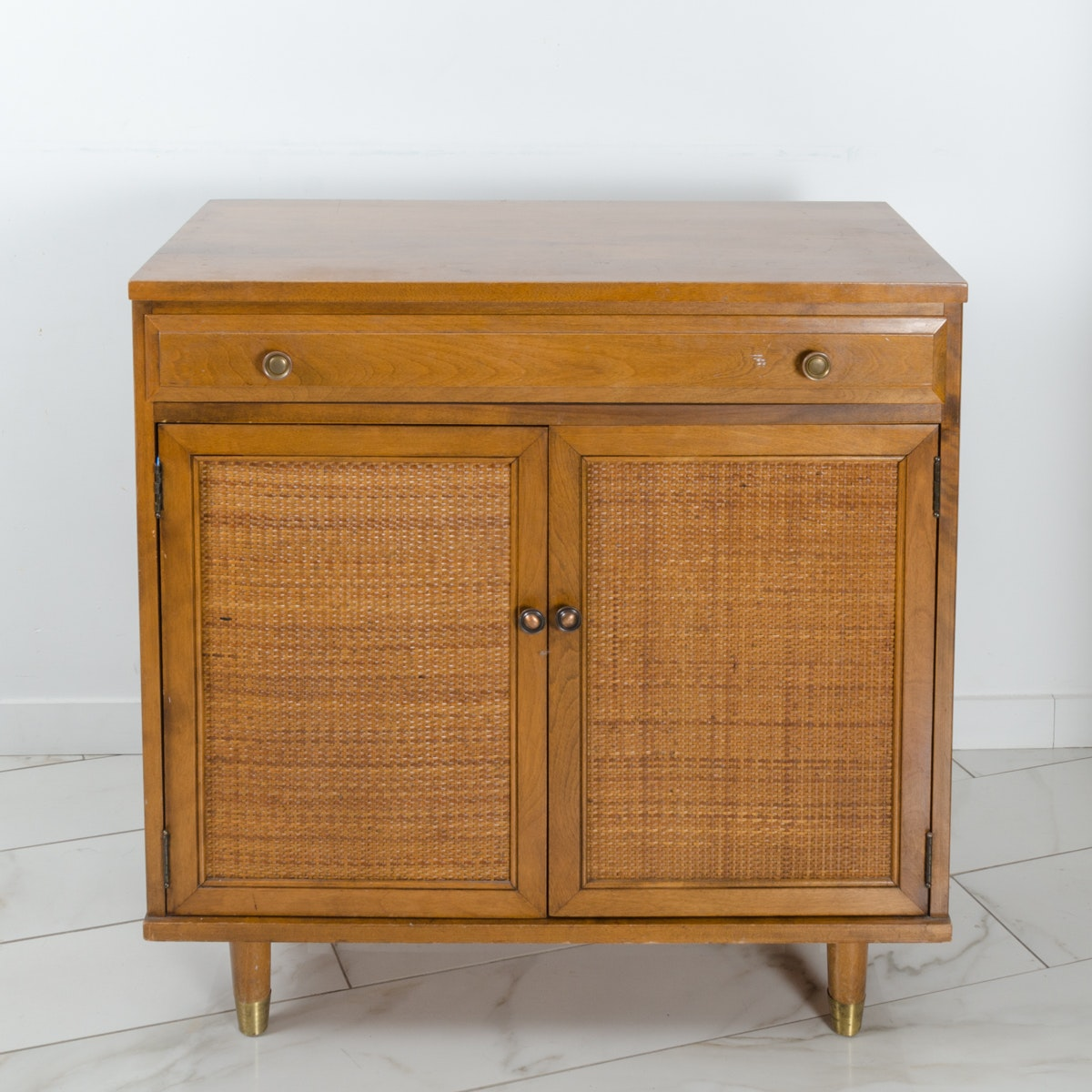 """Vintage Mid Century Modern """"Roomates"""" Cabinet by Baumritter"""
