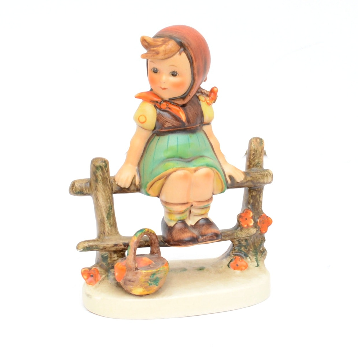 """Just Resting"" Goeble Hummel Figurine"