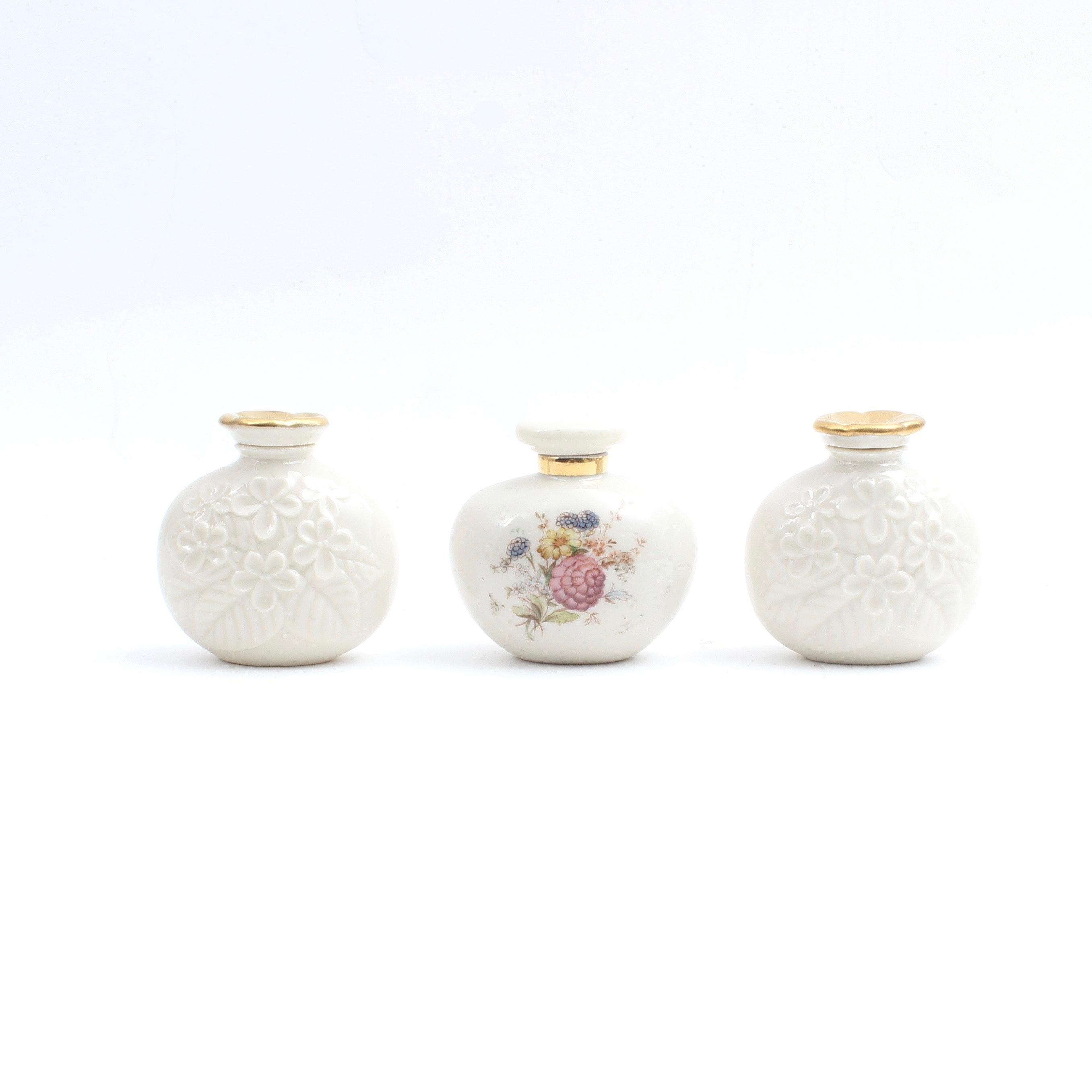 Vintage Lenox Perfume Bottles