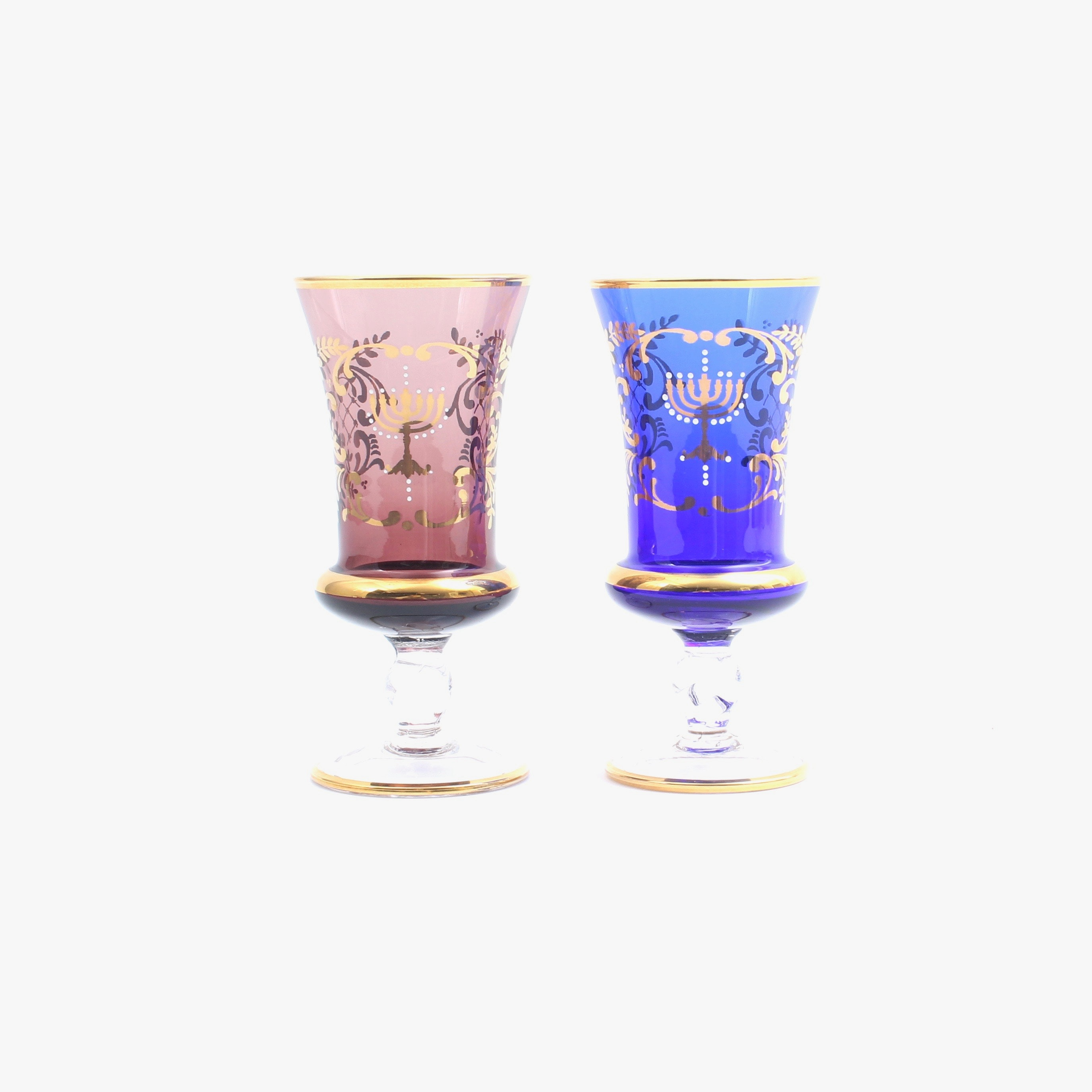 Ferro & Lazzarini Murano Kiddush Cups