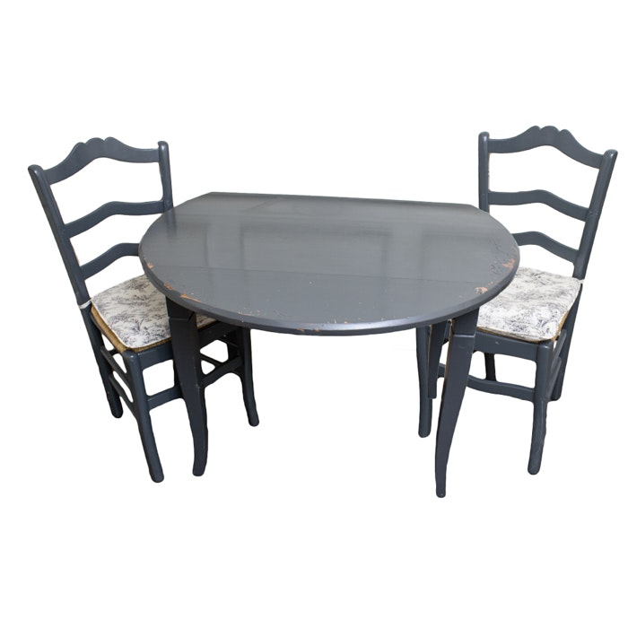 French Country Style Table and Chairs