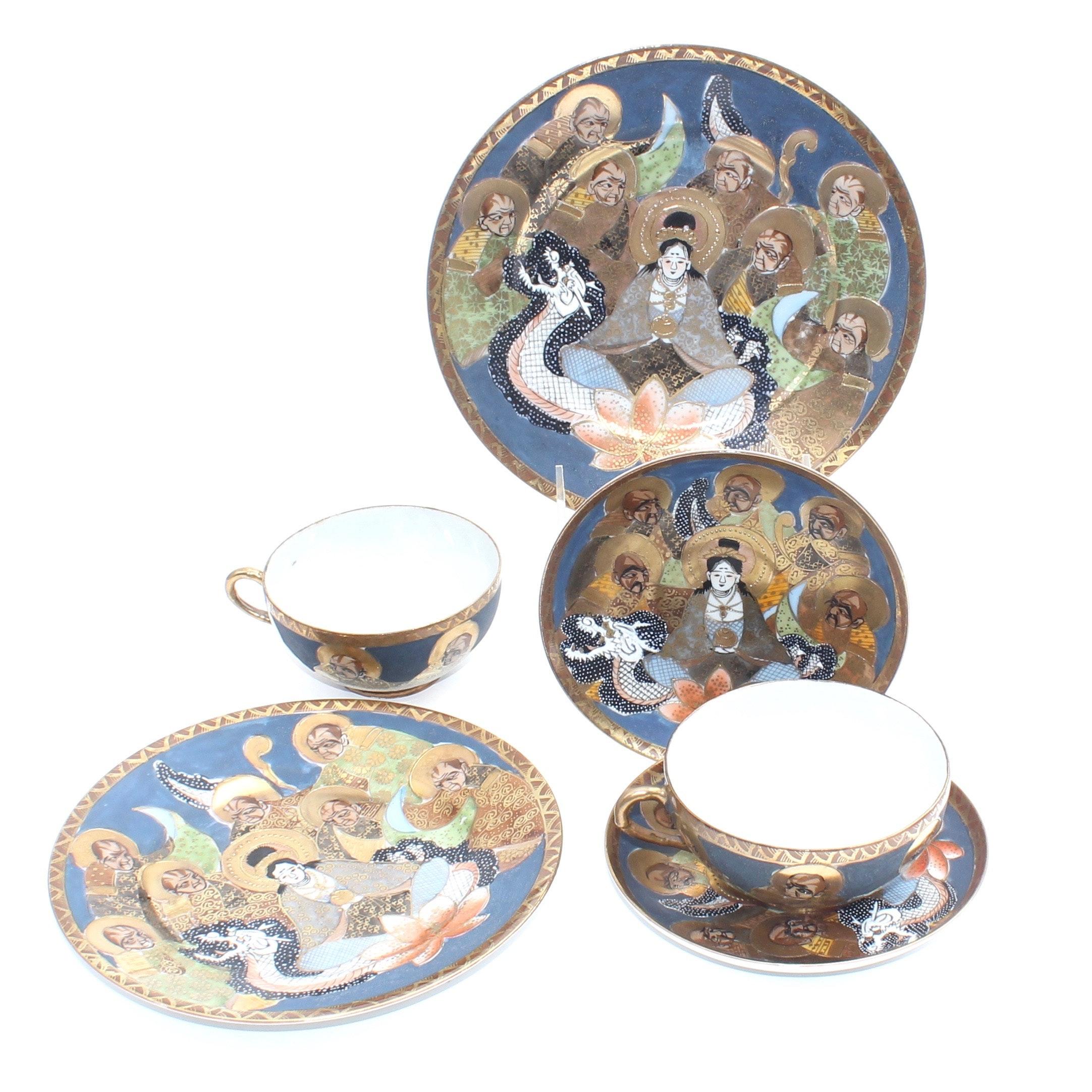 Japanese Satsuma Style Tableware