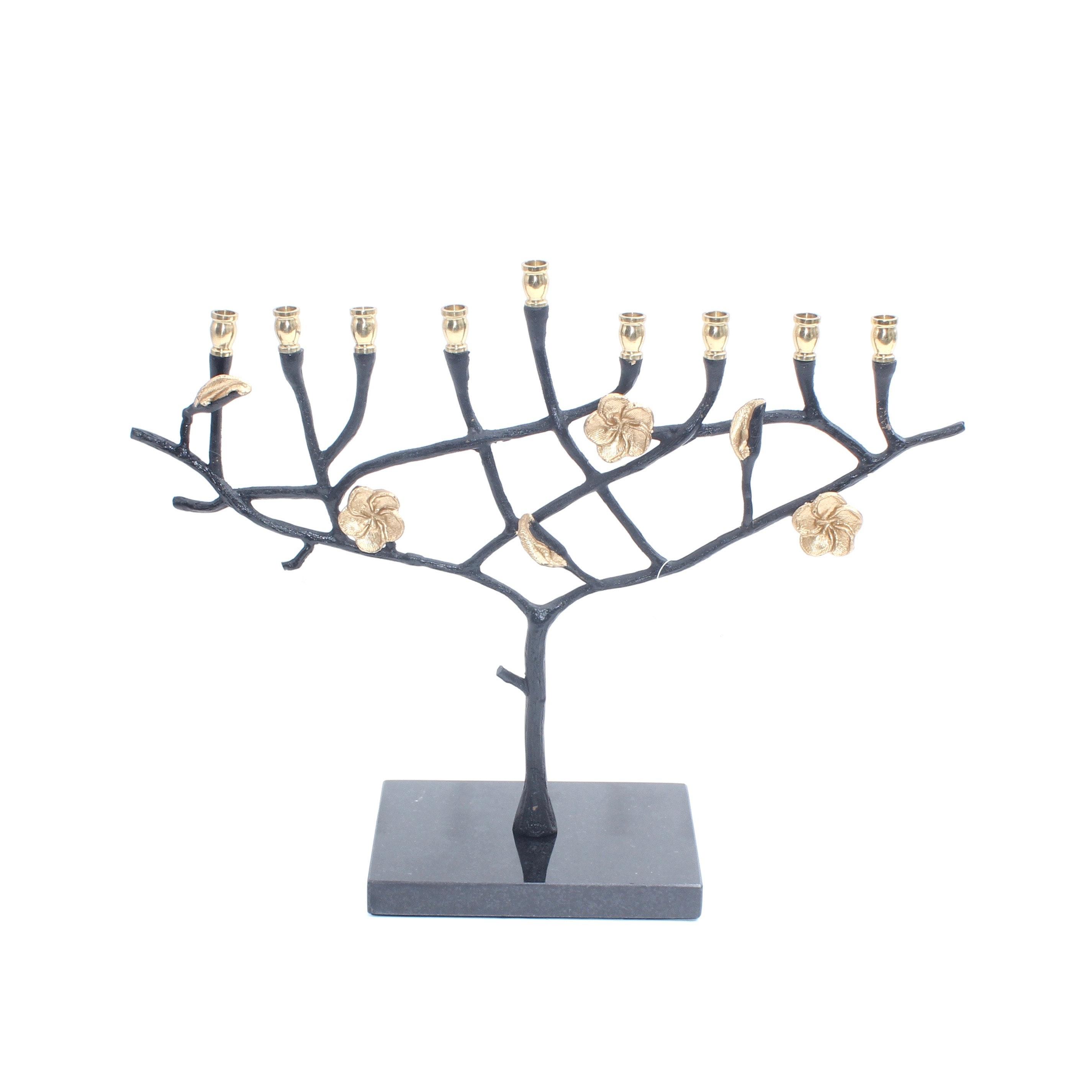 """Hanukkah """"Tree of Life"""" Menorah by Terry"""
