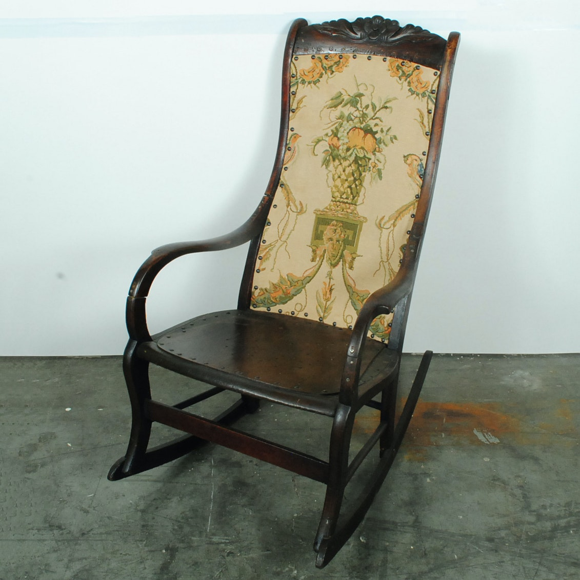 Vintage Victorian Style Rocking Chair