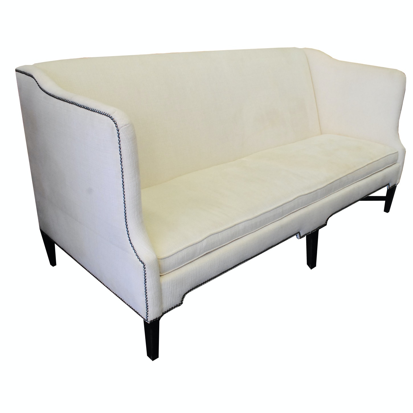 Contemporary Upholstered Settee