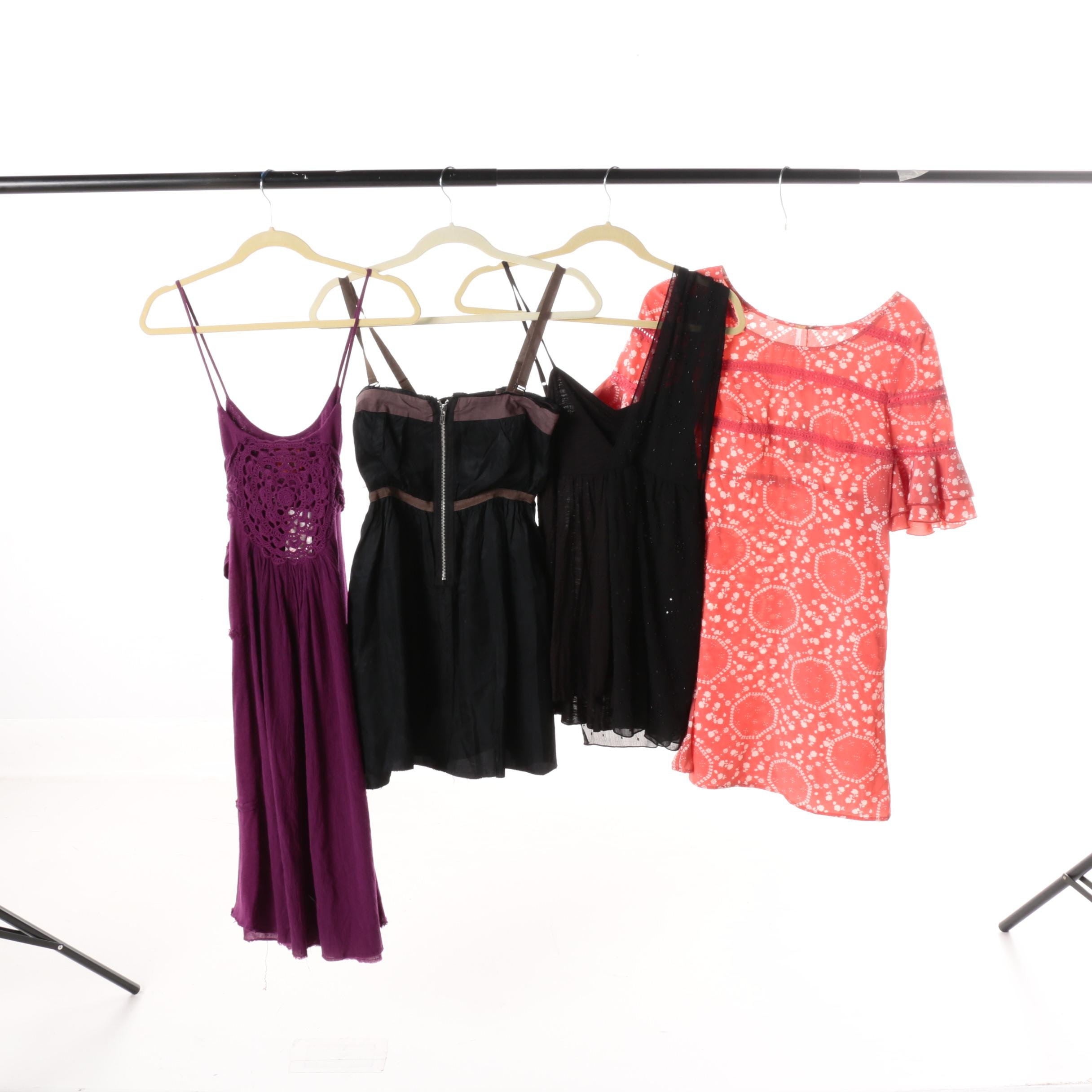 Women's Free People Mini-Dresses and Tops