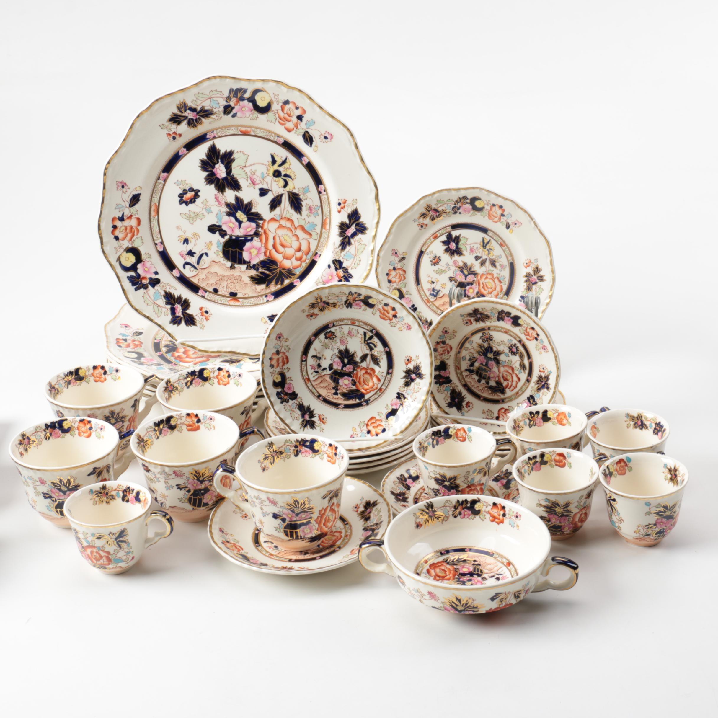 """Mason's """"Mandarin"""" Ironstone Tableware"""