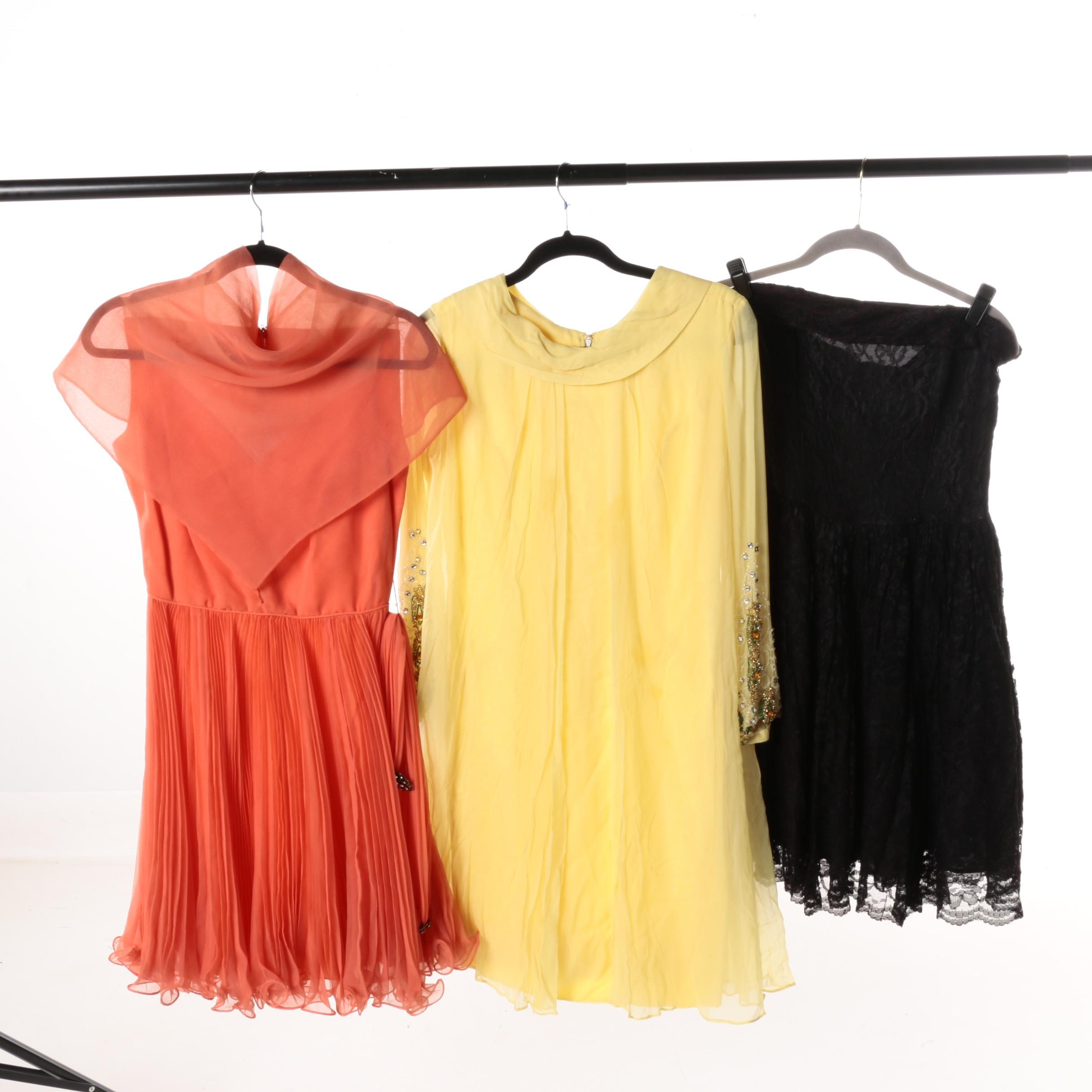 Women's Vintage Mini-Dresses