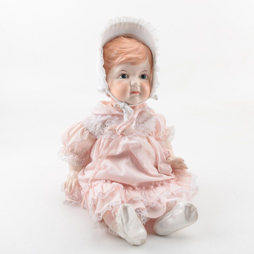 d2a3a78f2 Vintage Hand-Painted Bisque Baby Doll : EBTH