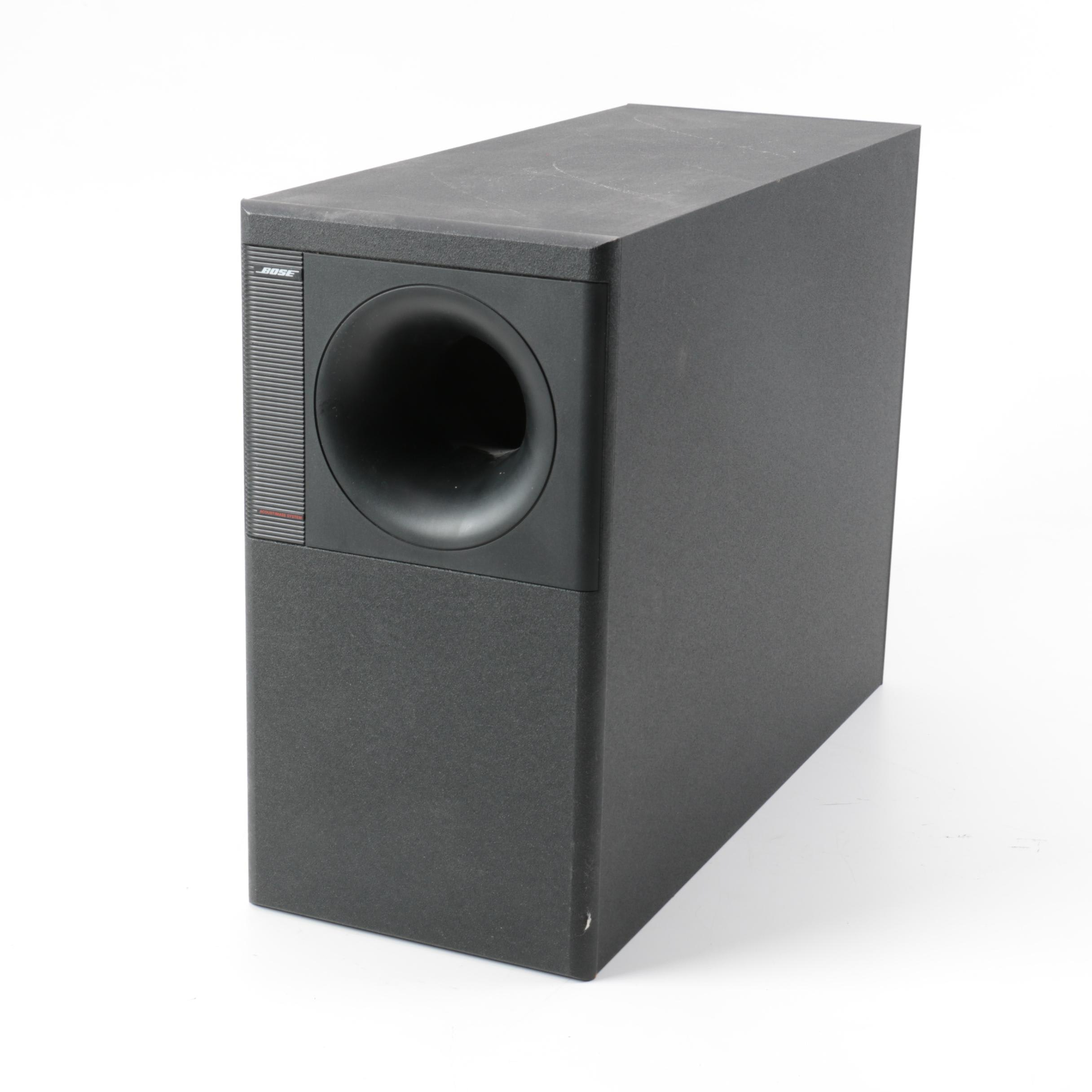 Bose Acoustimass 5 Series 2 Direct Reflecting Speaker System Subwoofer