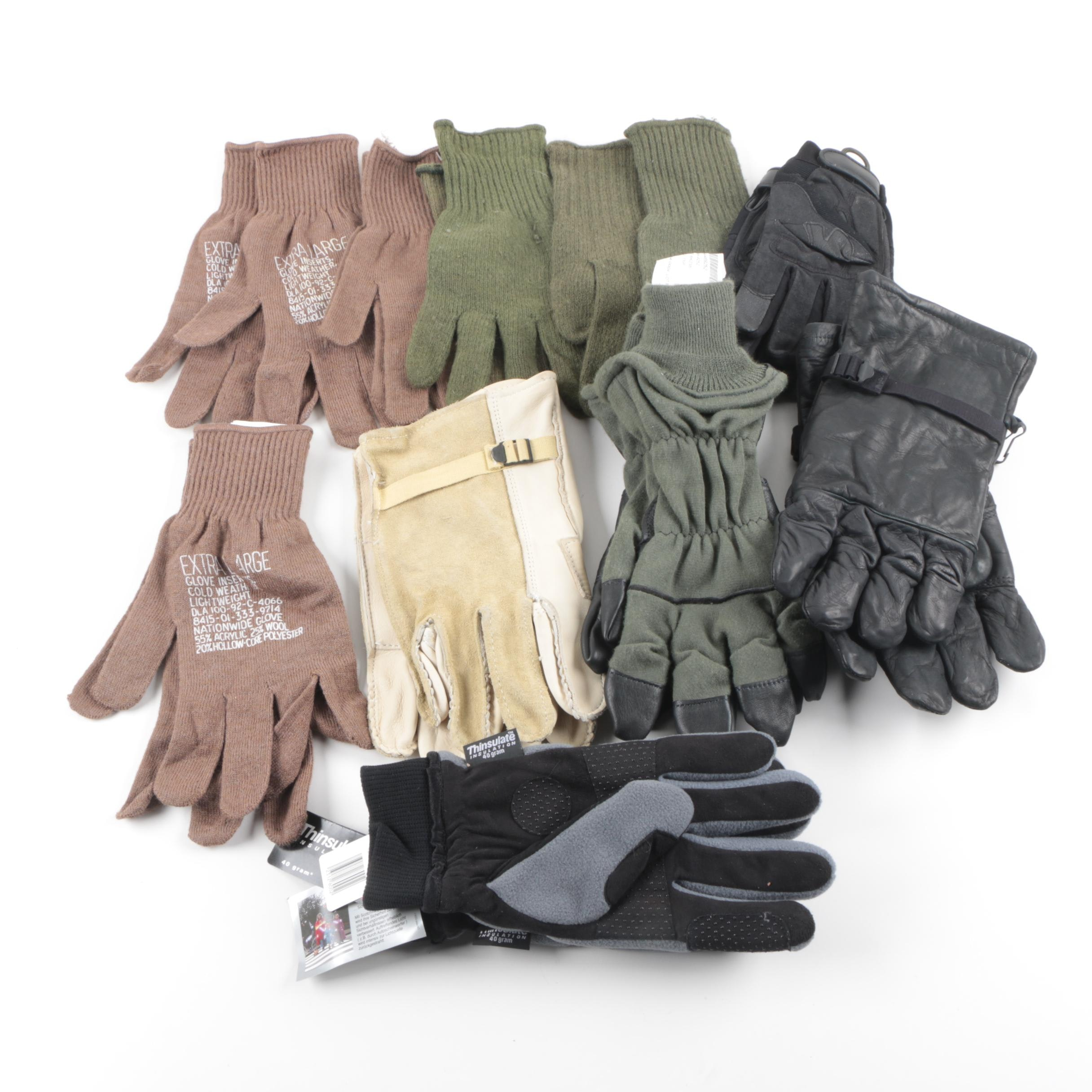 Military Gloves and Knit Glove Liners