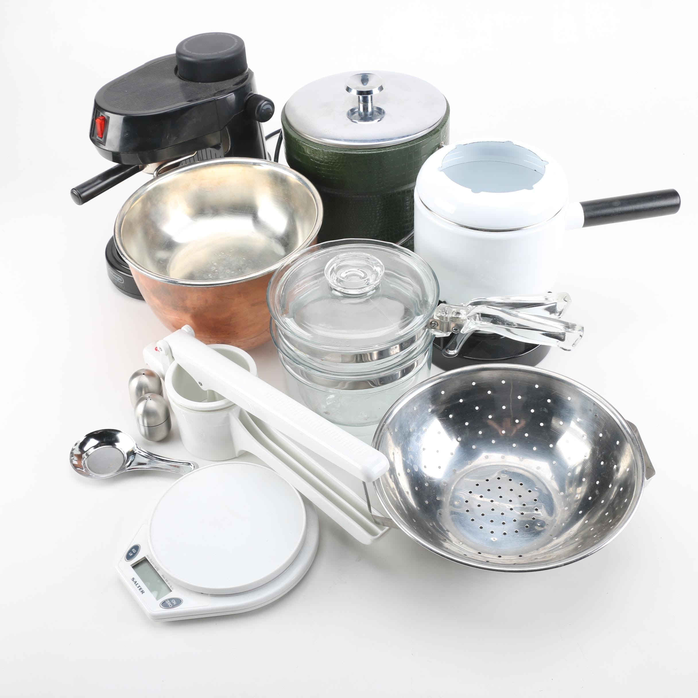 Assortment of Kitchenware