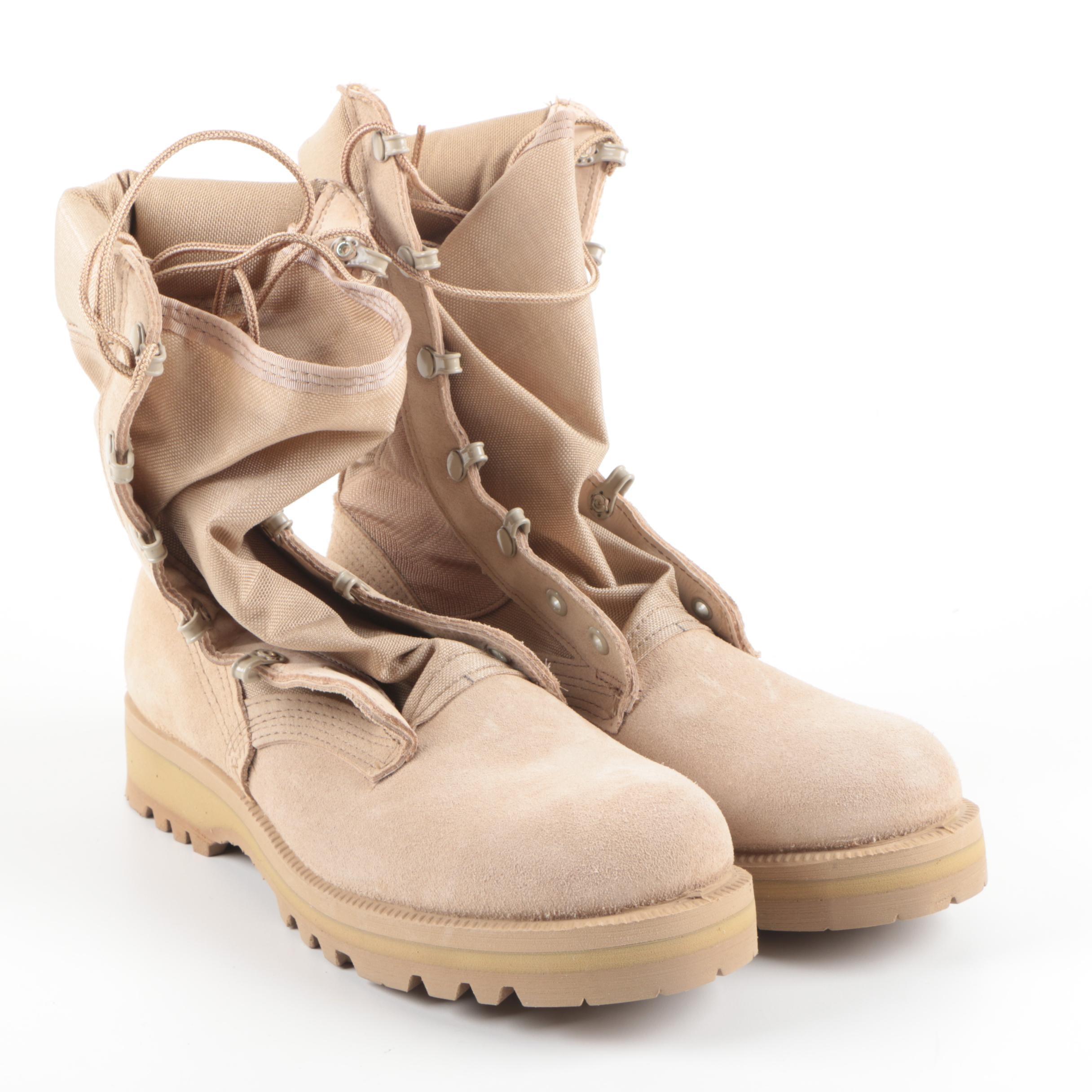 Vibram Sole Combat Boots