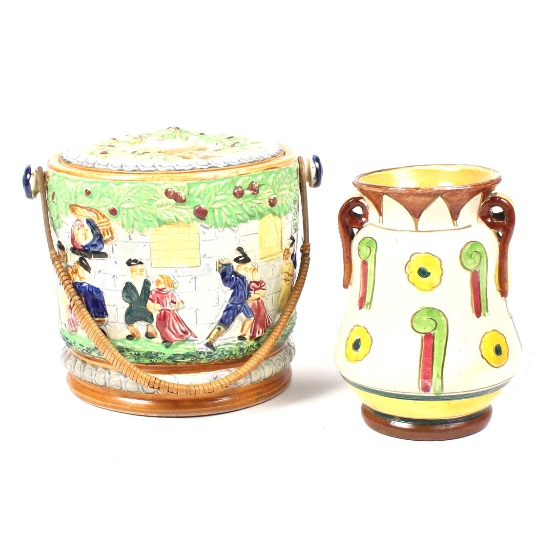 Ceramic Jars from Italy and Japan