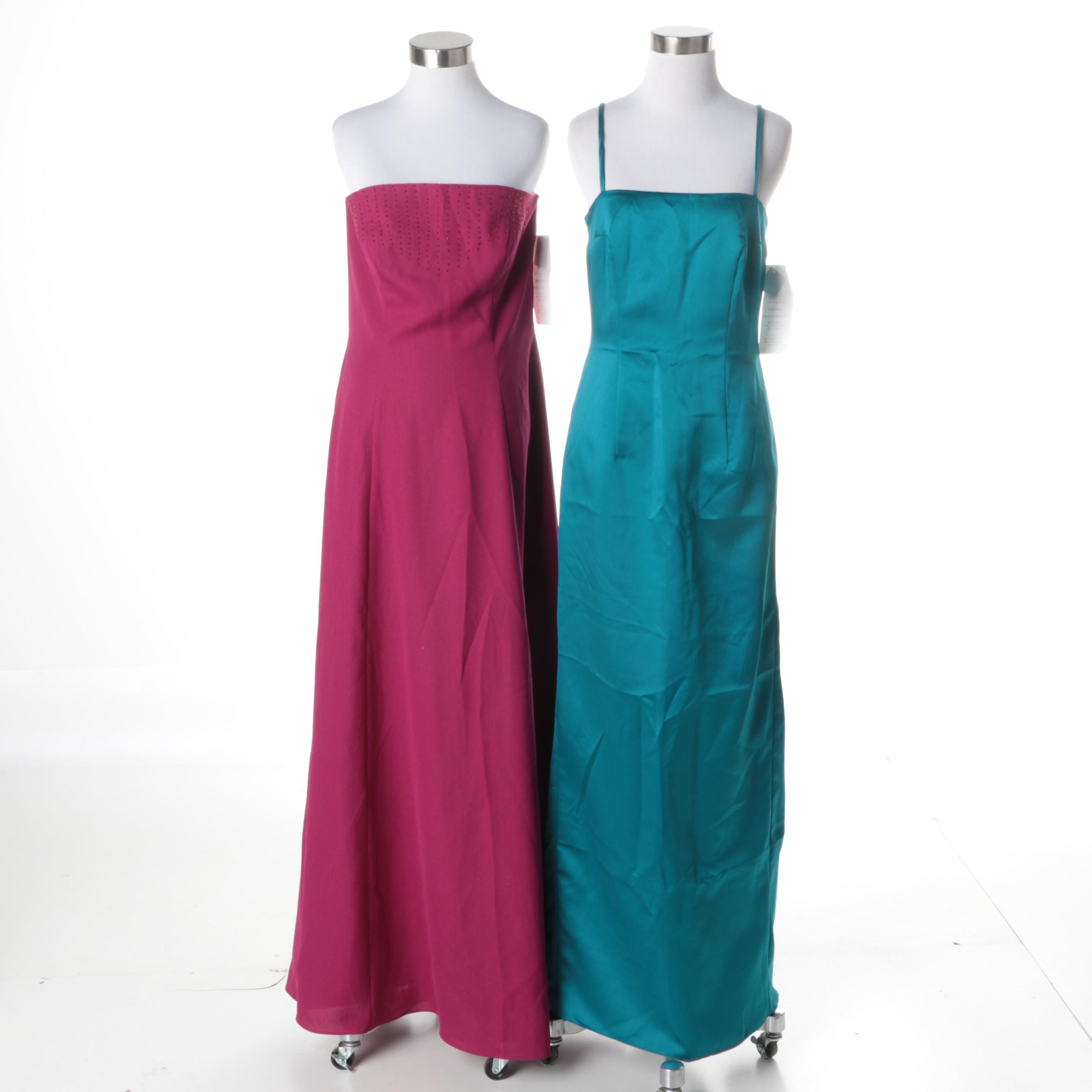 Women's Formal Floor-Length Dresses